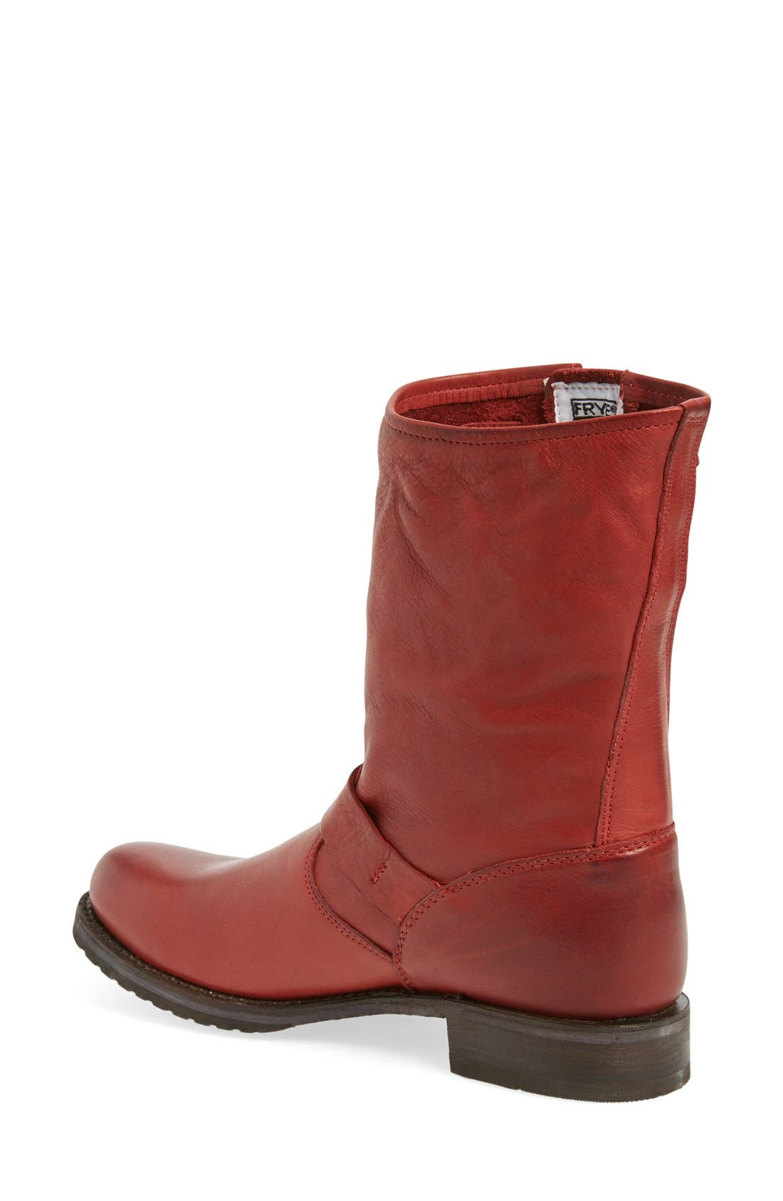 'Veronica Short' Slouchy Boot,                             Alternate thumbnail 32, color,