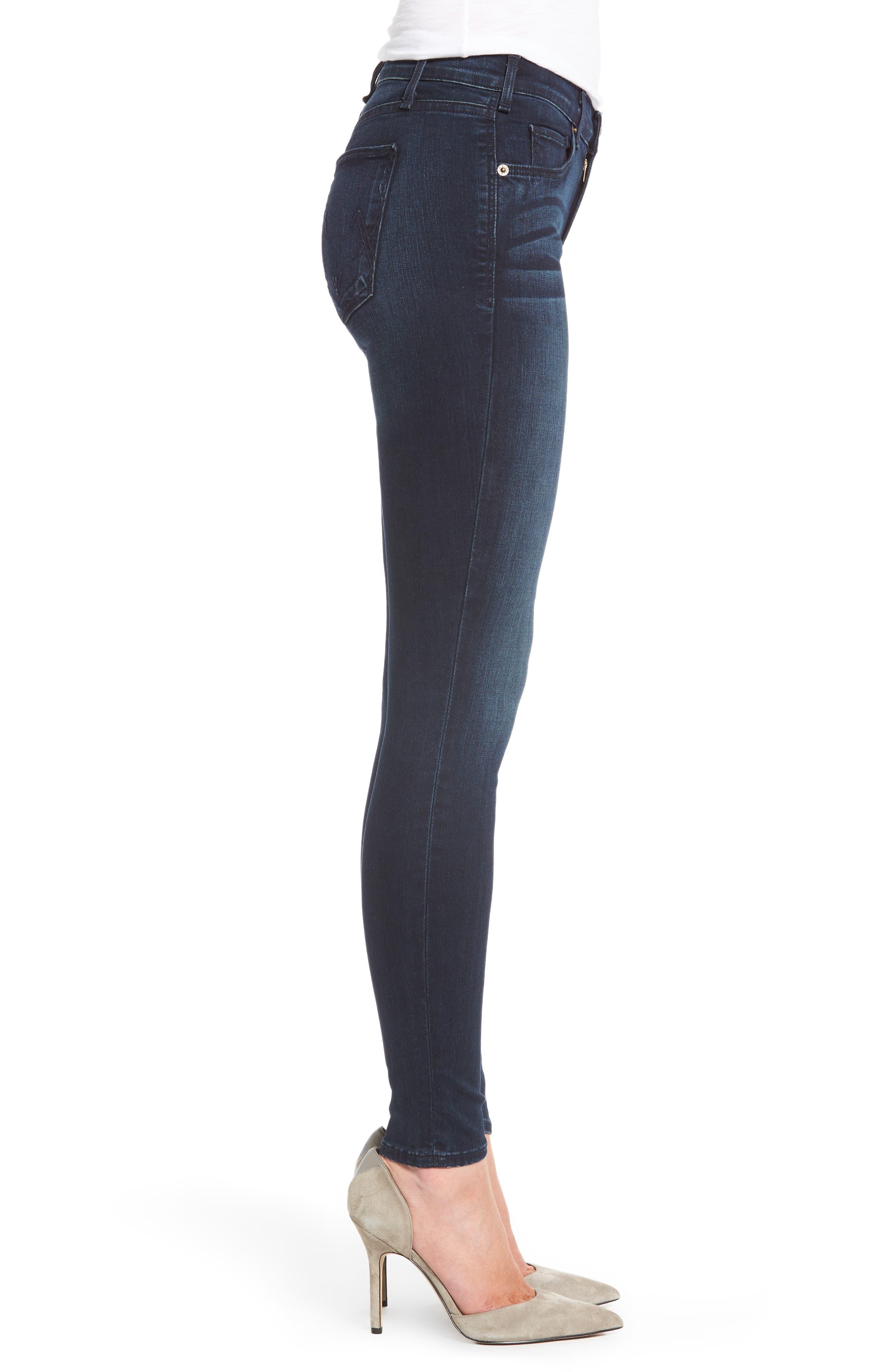 Newton Skinny Jeans,                             Alternate thumbnail 3, color,                             457