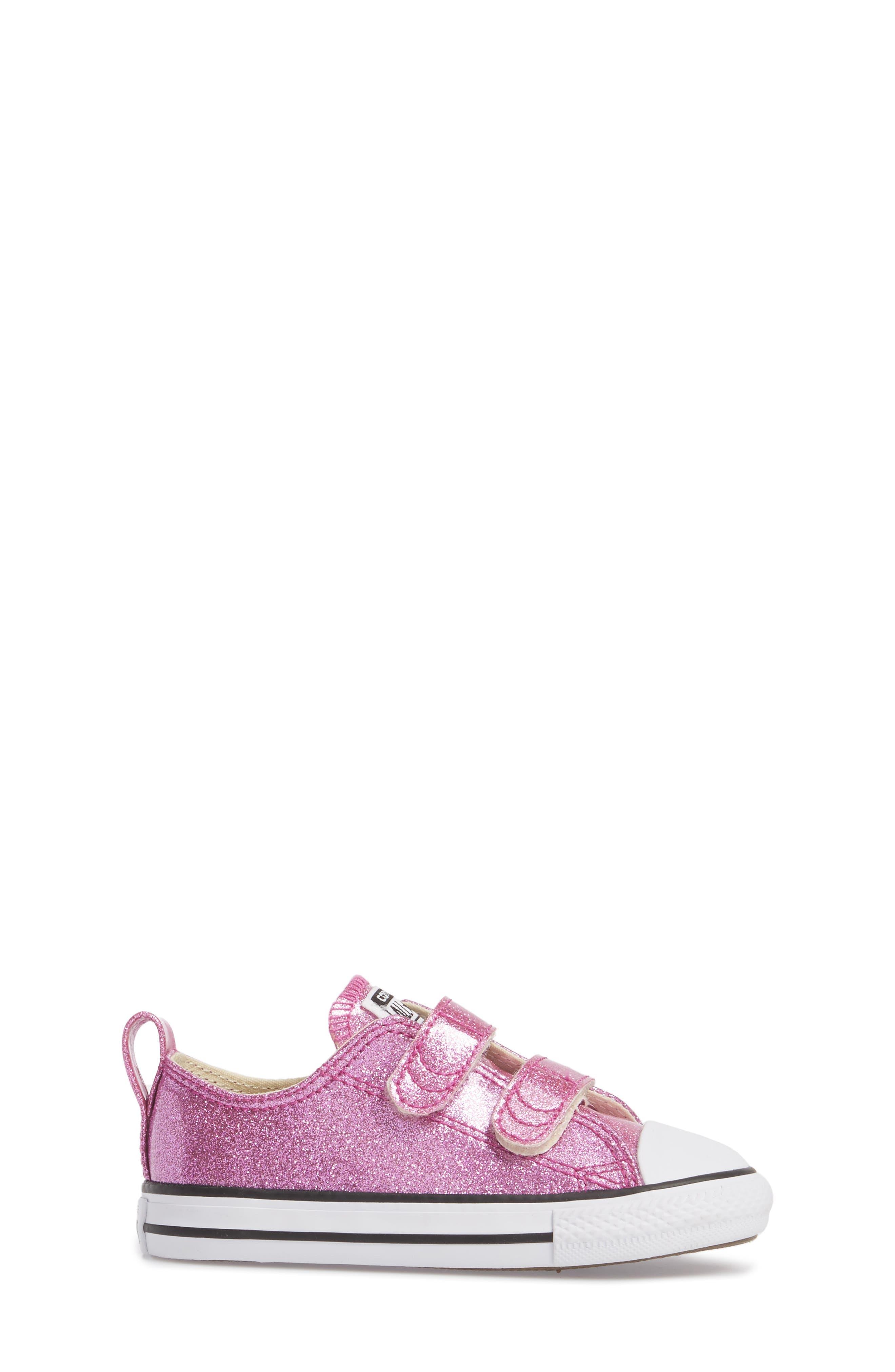 All Star<sup>®</sup> Seasonal Glitter Sneaker,                             Alternate thumbnail 3, color,                             500