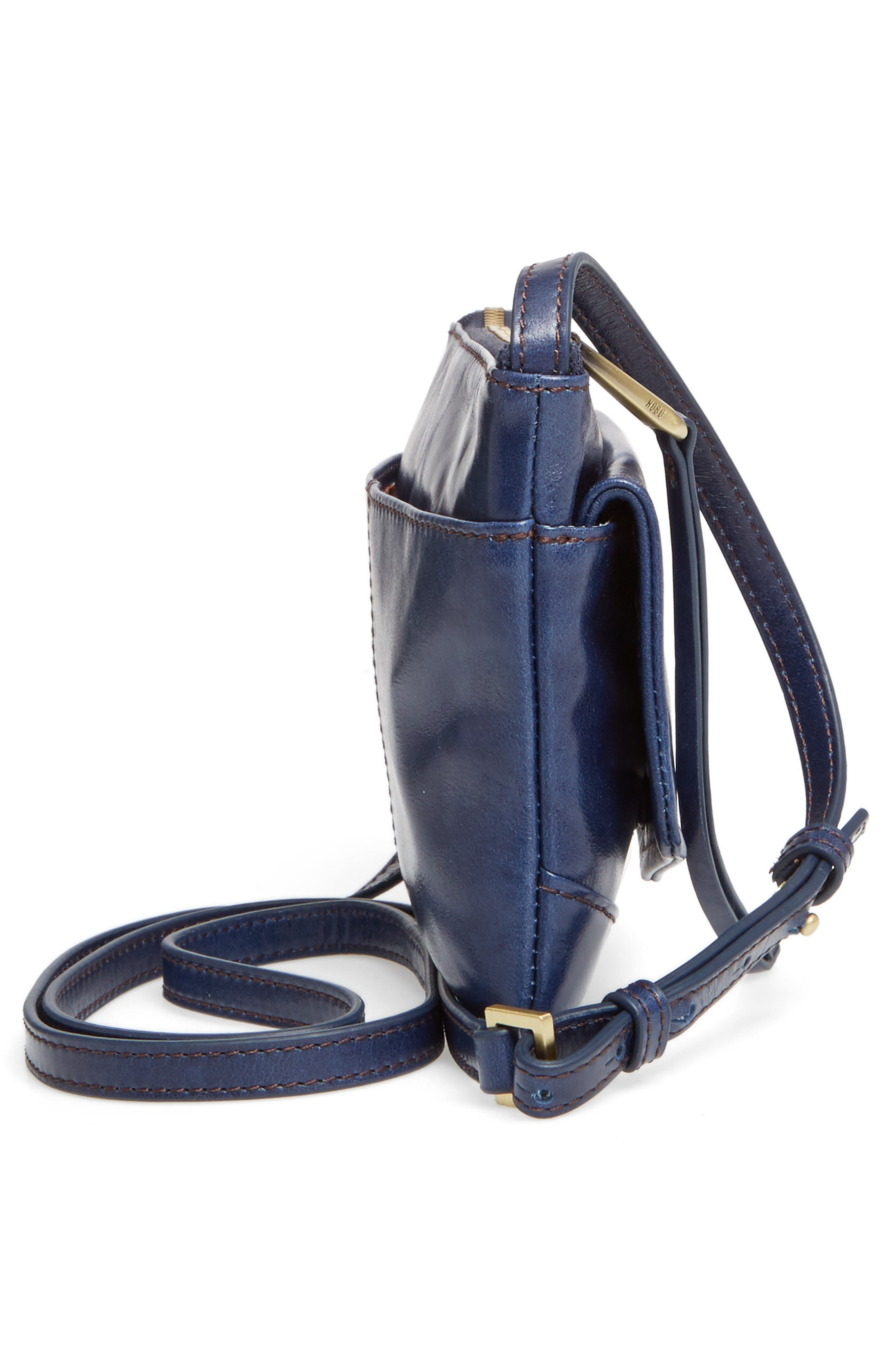 Amble Leather Crossbody Bag,                             Alternate thumbnail 53, color,