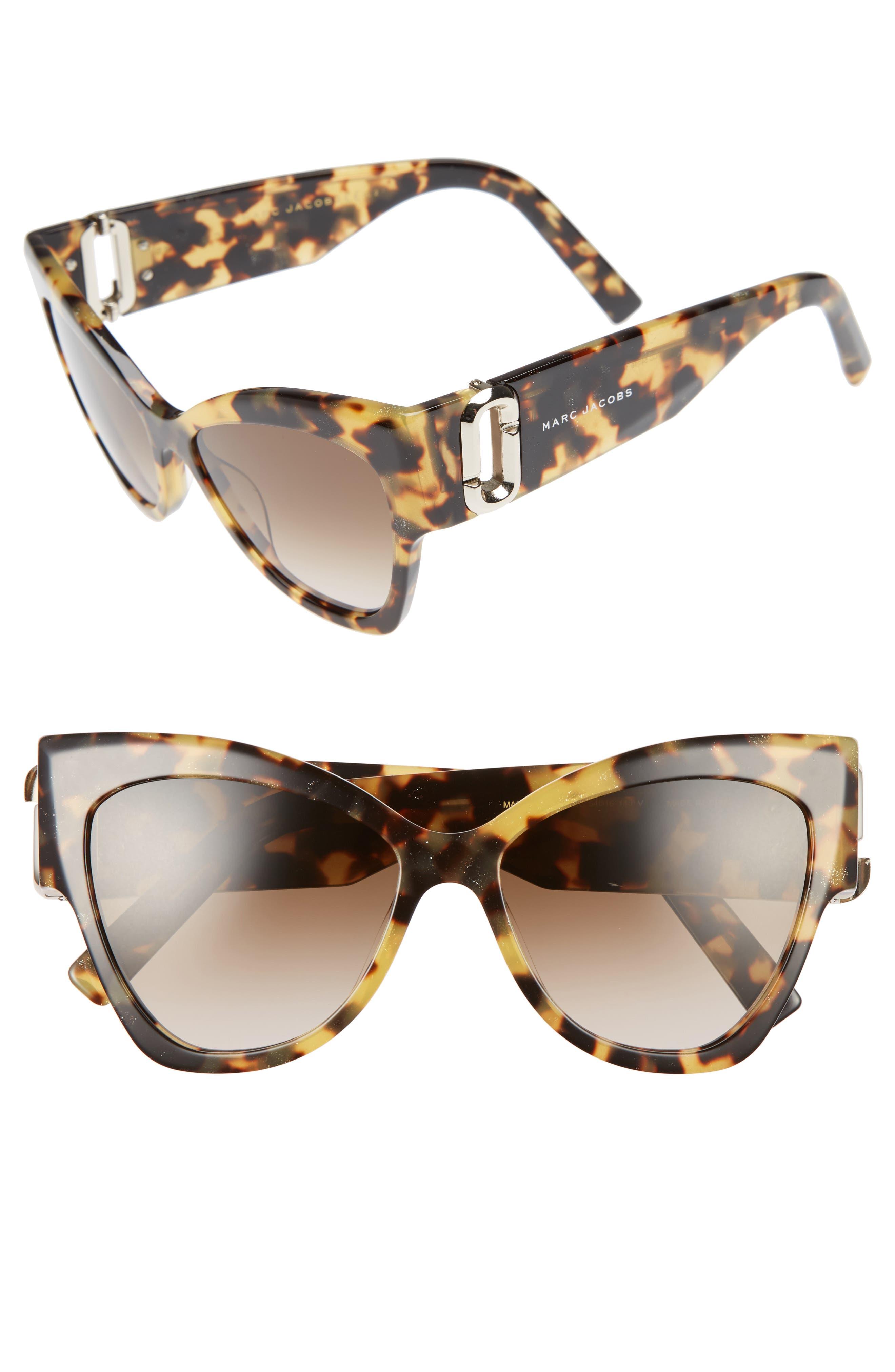 54mm Oversized Sunglasses,                             Main thumbnail 2, color,