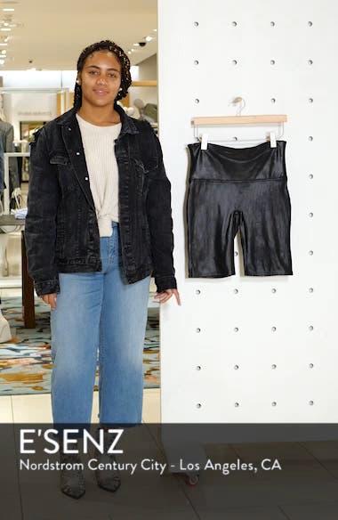 Faux Leather Bike Shorts, sales video thumbnail