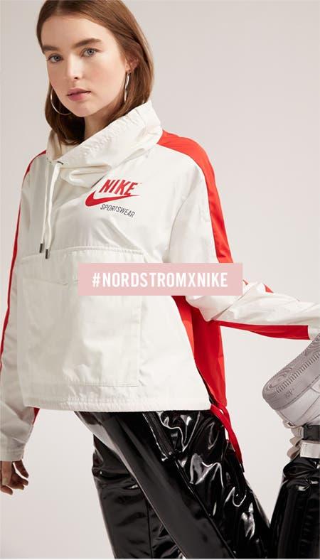 Nordstrom x Nike social feed.