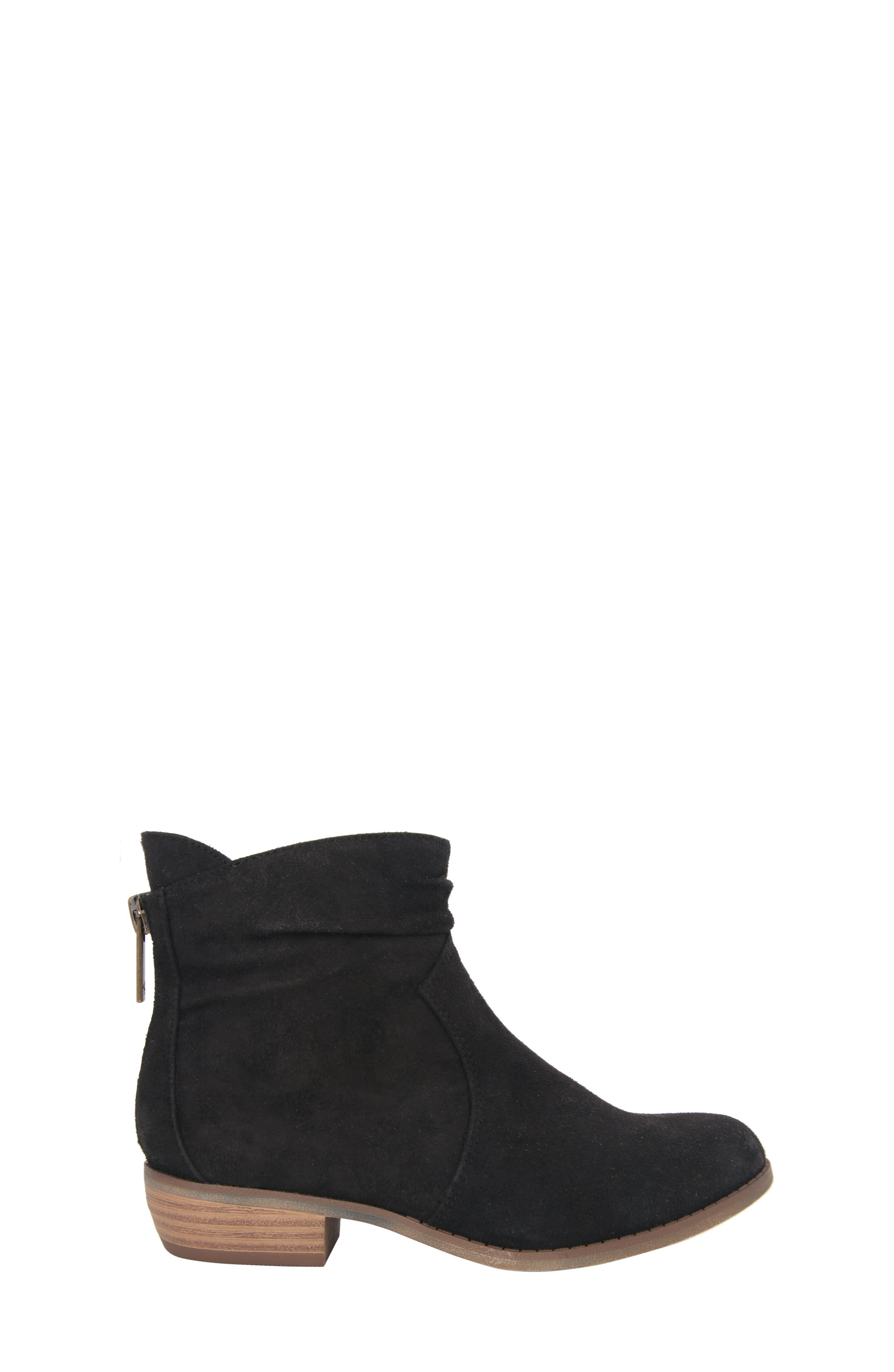Delia Slightly Slouchy Bootie,                             Alternate thumbnail 3, color,                             003