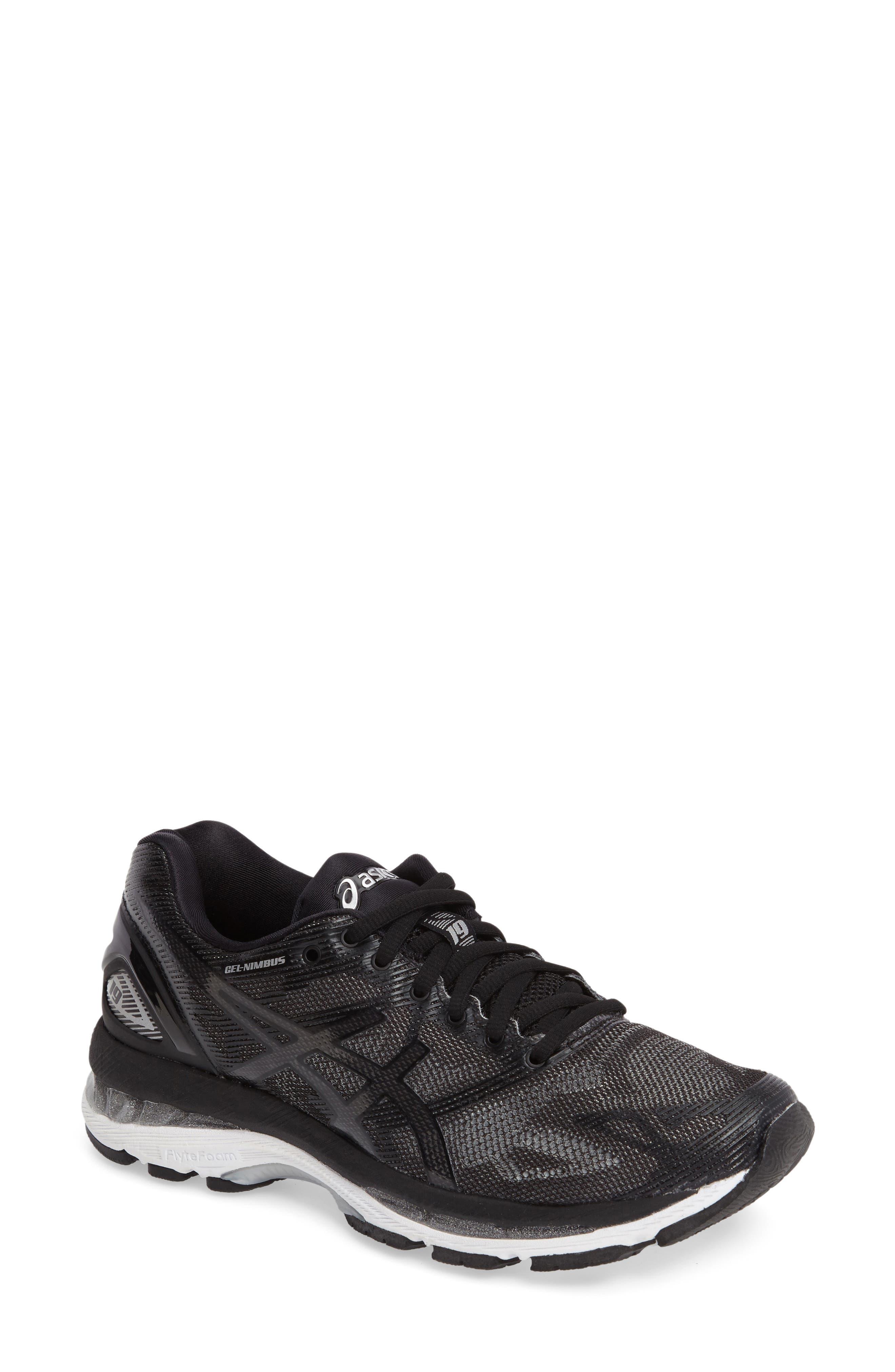 GEL<sup>®</sup>-Nimbus 19 Running Shoe,                             Main thumbnail 1, color,                             009