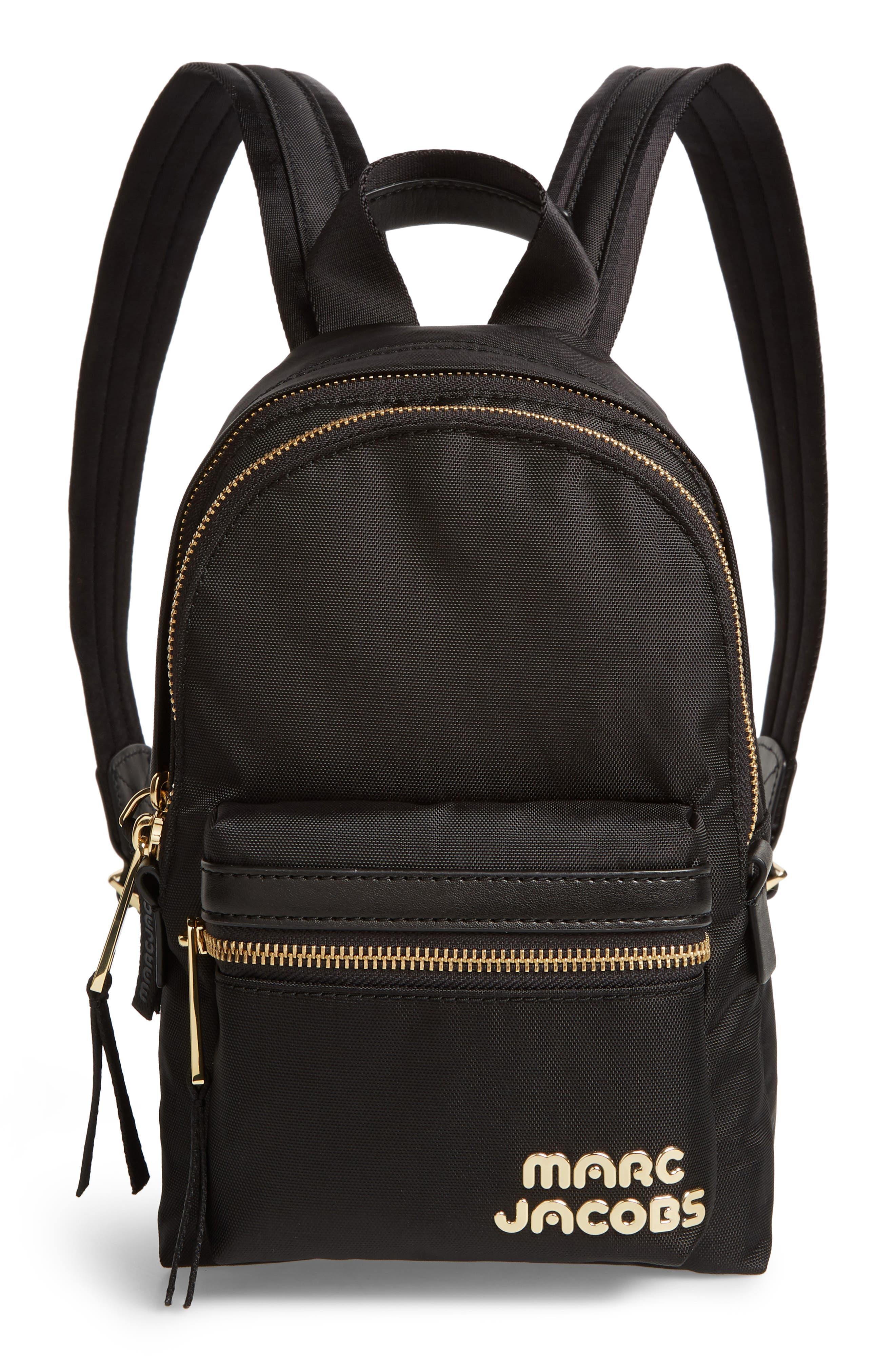 Mini Trek Nylon Backpack,                         Main,                         color, 001