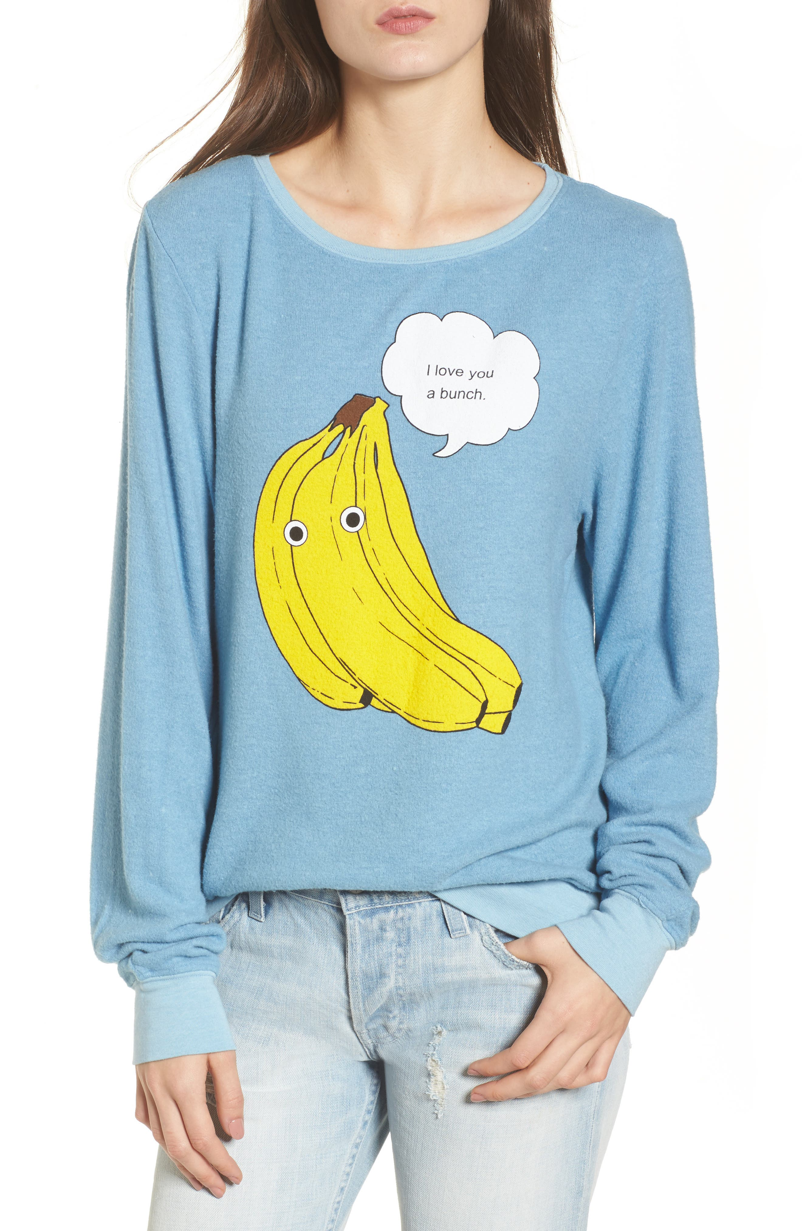 I Love You A Bunch Sweatshirt,                         Main,                         color, 420