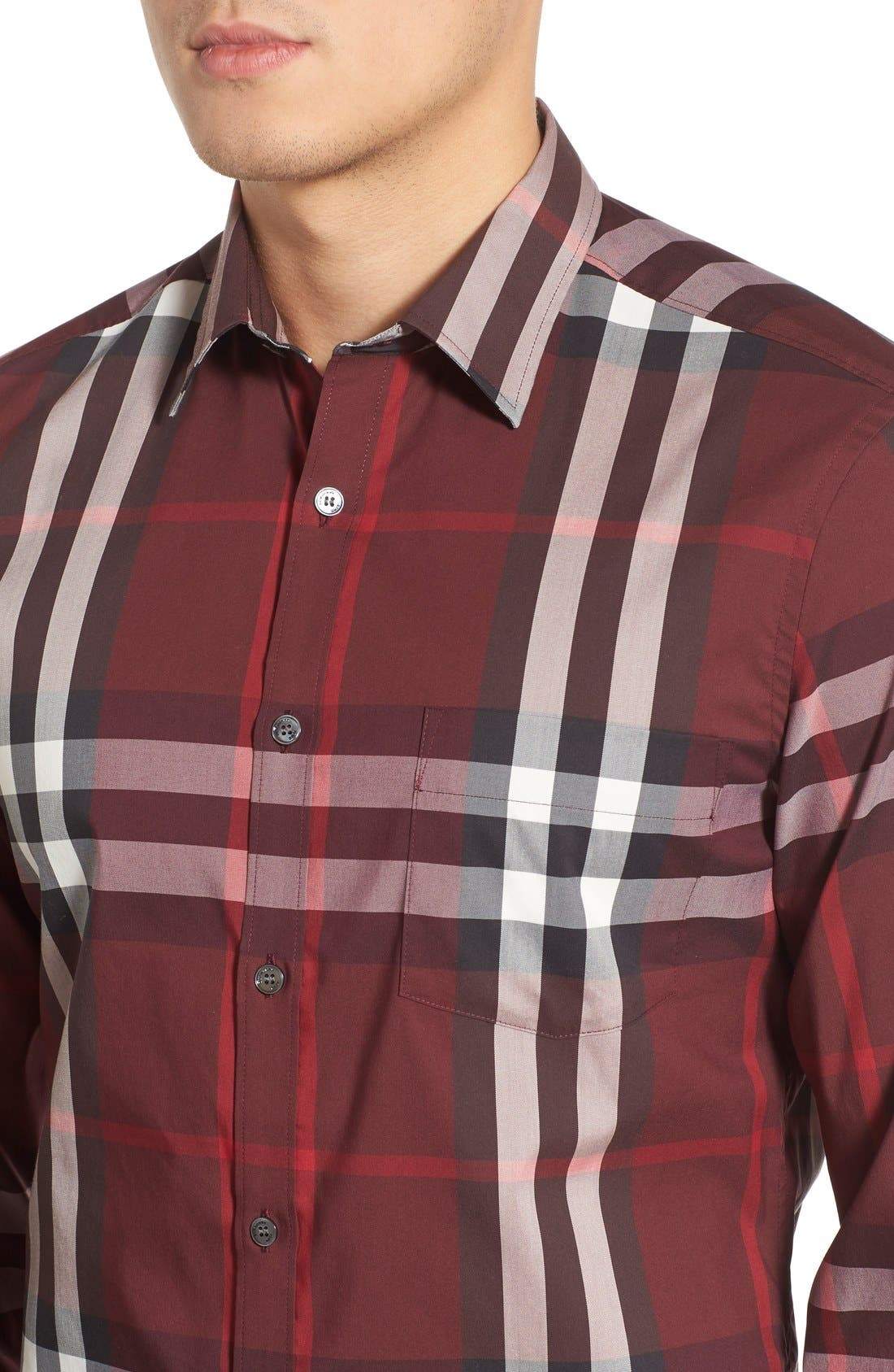 Nelson Check Sport Shirt,                             Alternate thumbnail 92, color,