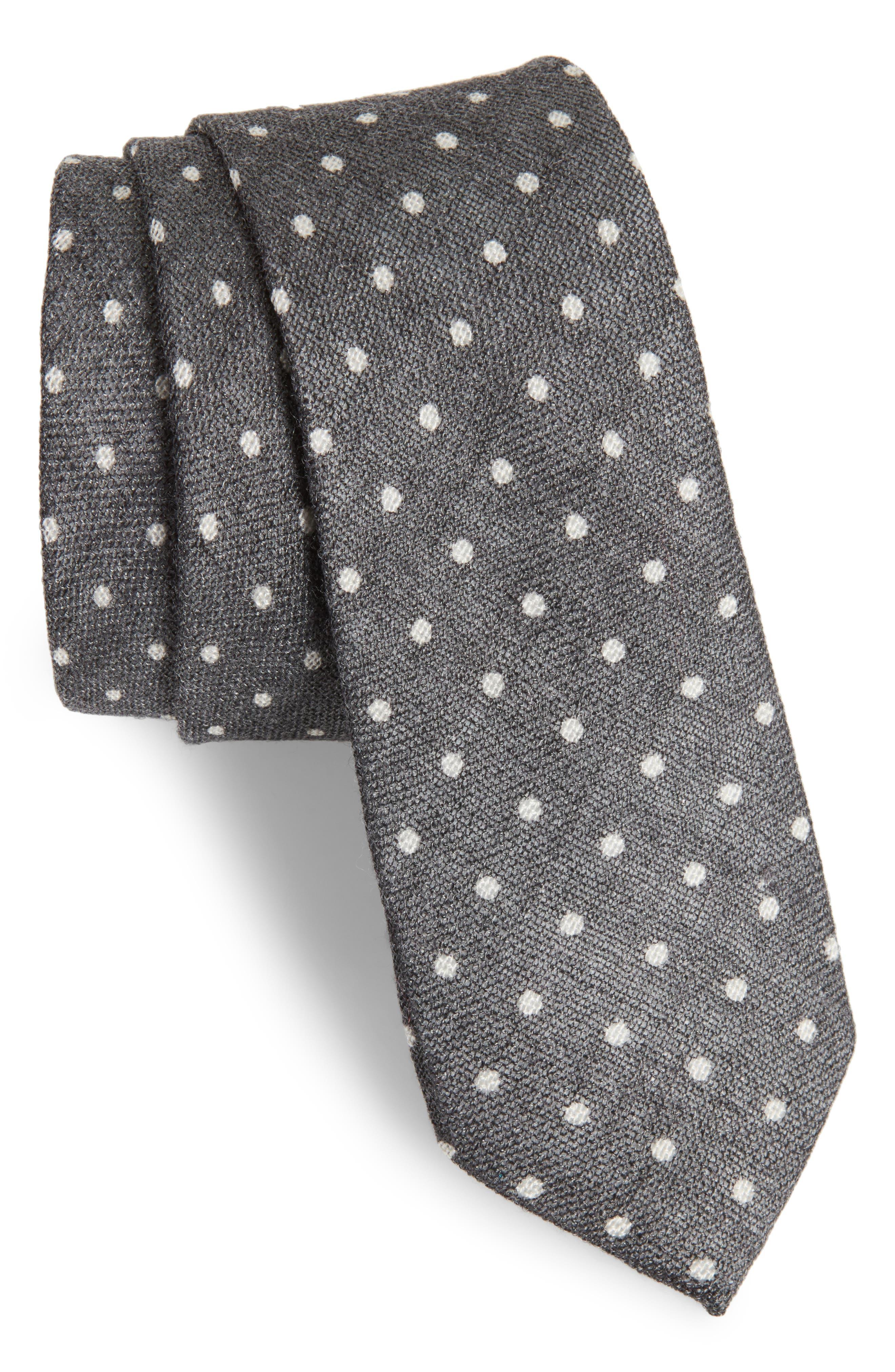 Bradford Dot Tie,                             Main thumbnail 1, color,