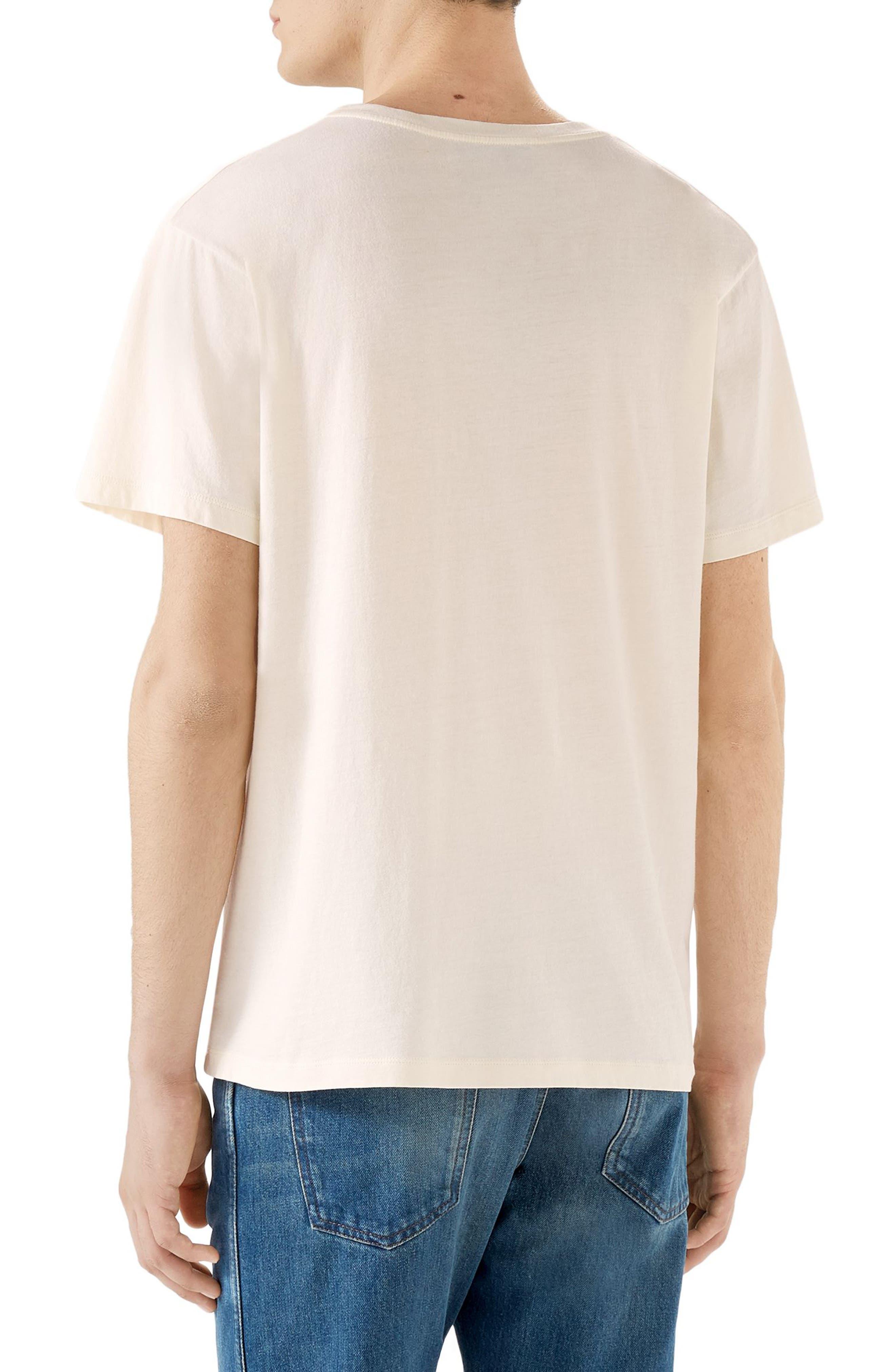 New Logo T-Shirt,                             Alternate thumbnail 2, color,                             OFF WHITE