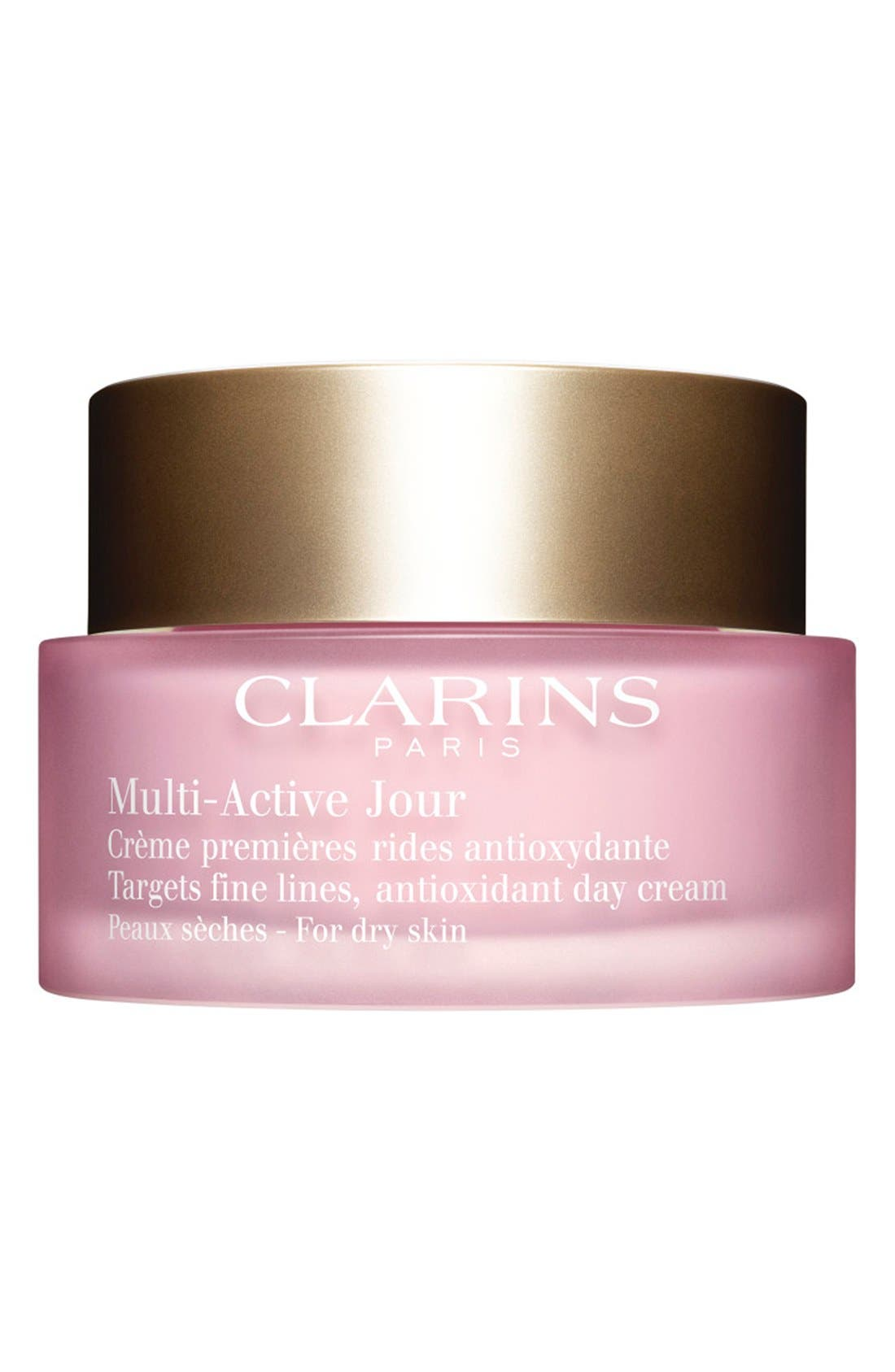 CLARINS Multi-Active Day Cream for Dry Skin, Main, color, NO COLOR