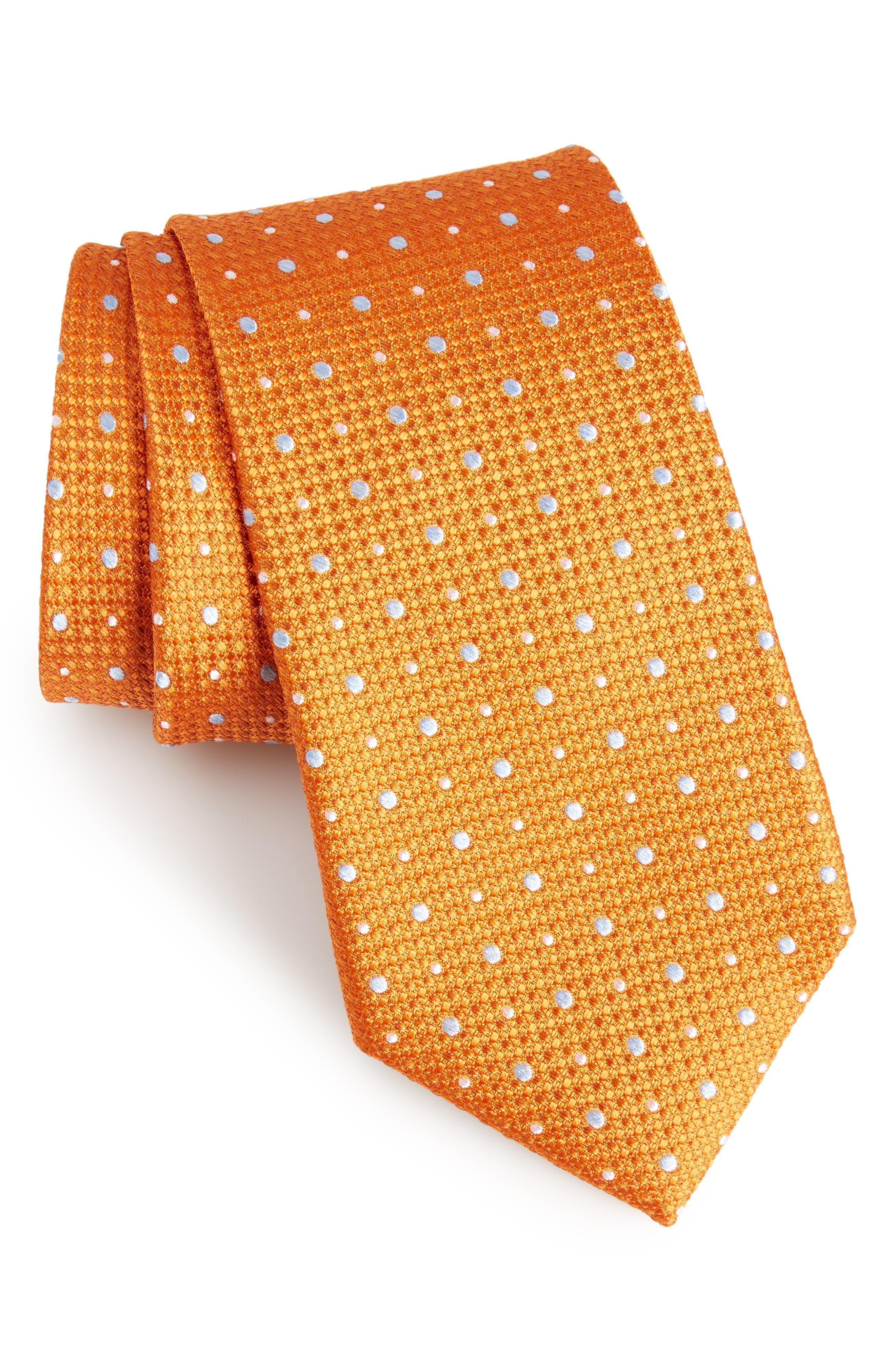 Gest Dot Silk Tie,                             Main thumbnail 8, color,