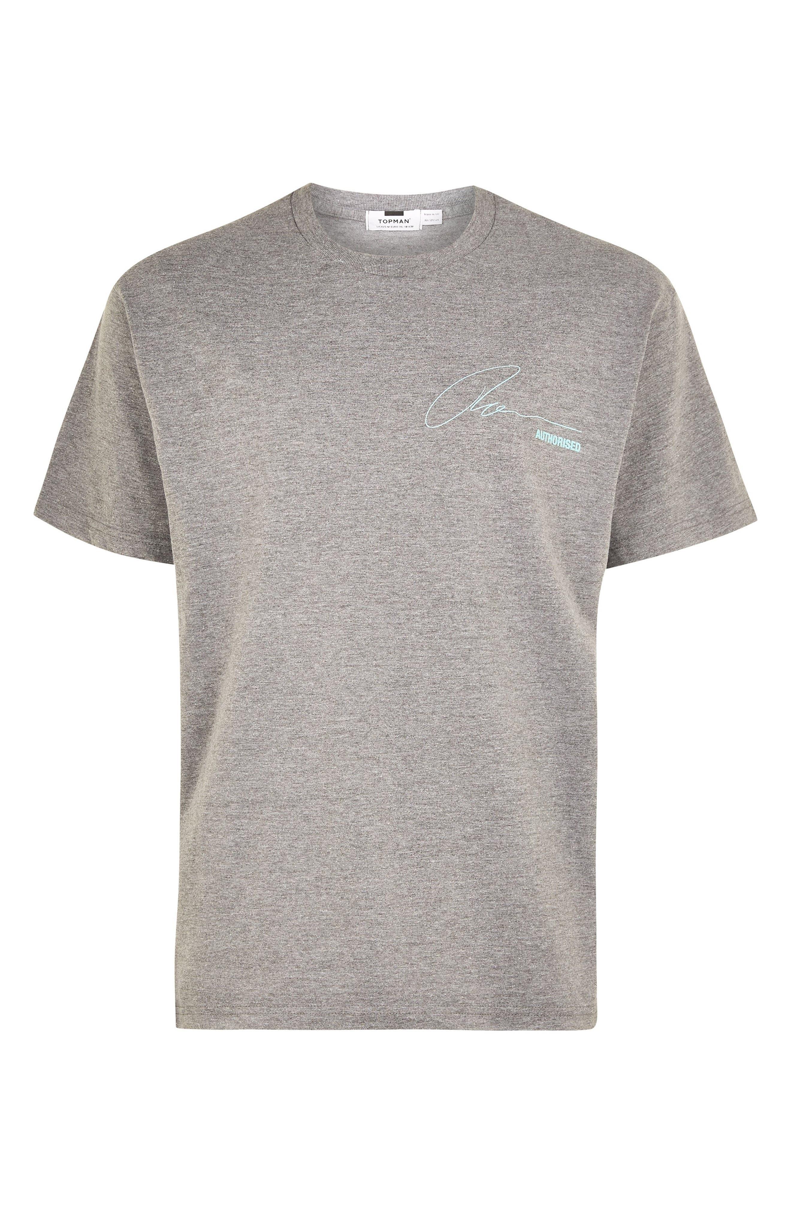 Explicit Content T-Shirt,                             Alternate thumbnail 4, color,                             GREY