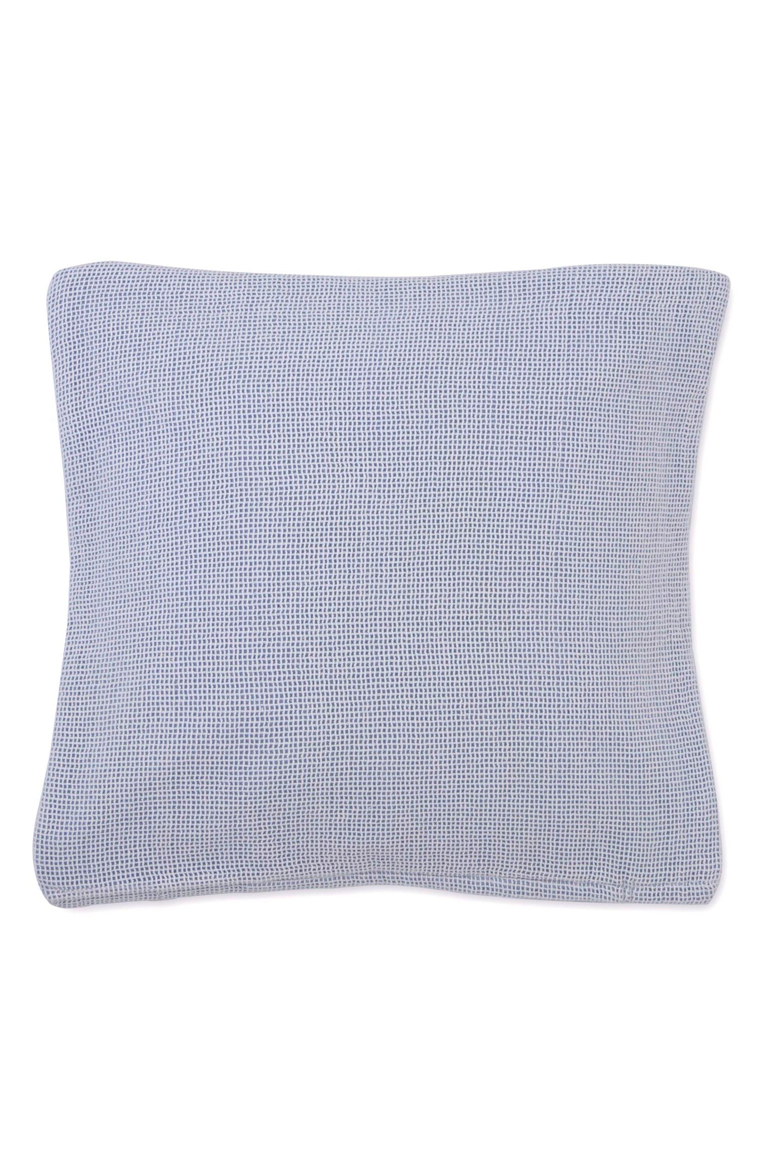 Sea Breeze Square Accent Pillow,                             Main thumbnail 1, color,                             LIGHT BLUE