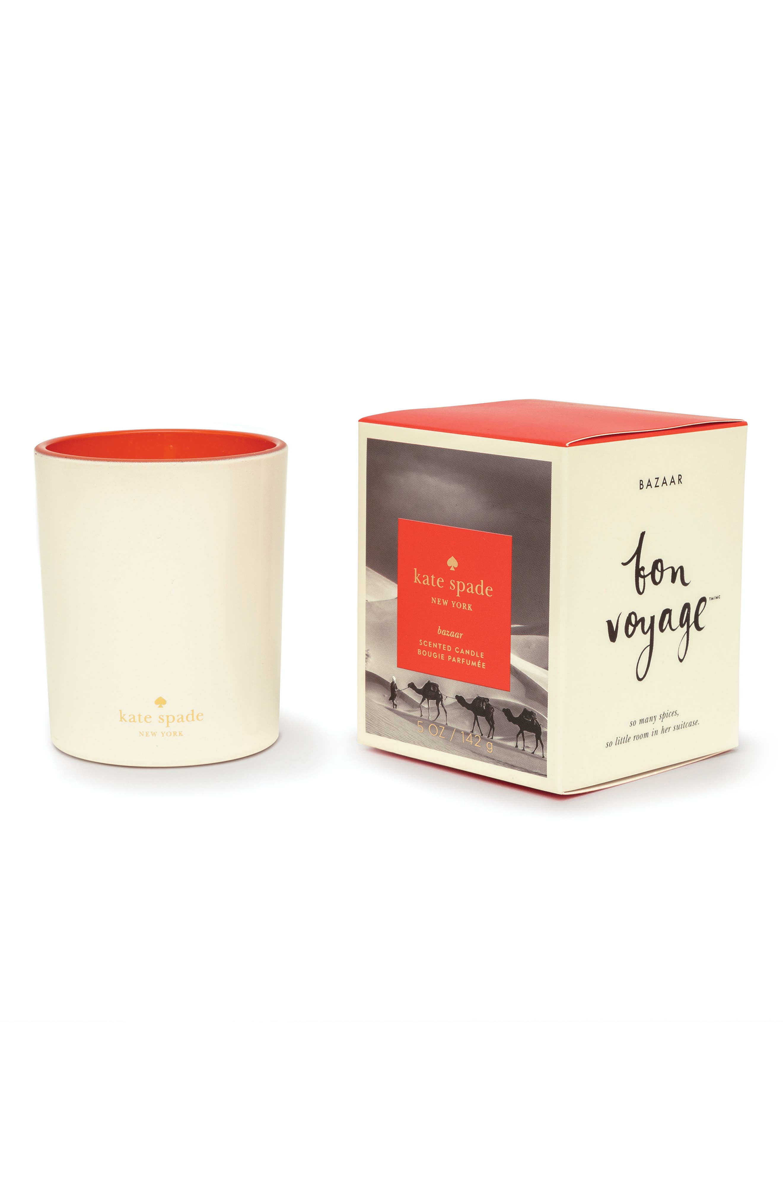 medium scented candle,                             Main thumbnail 4, color,