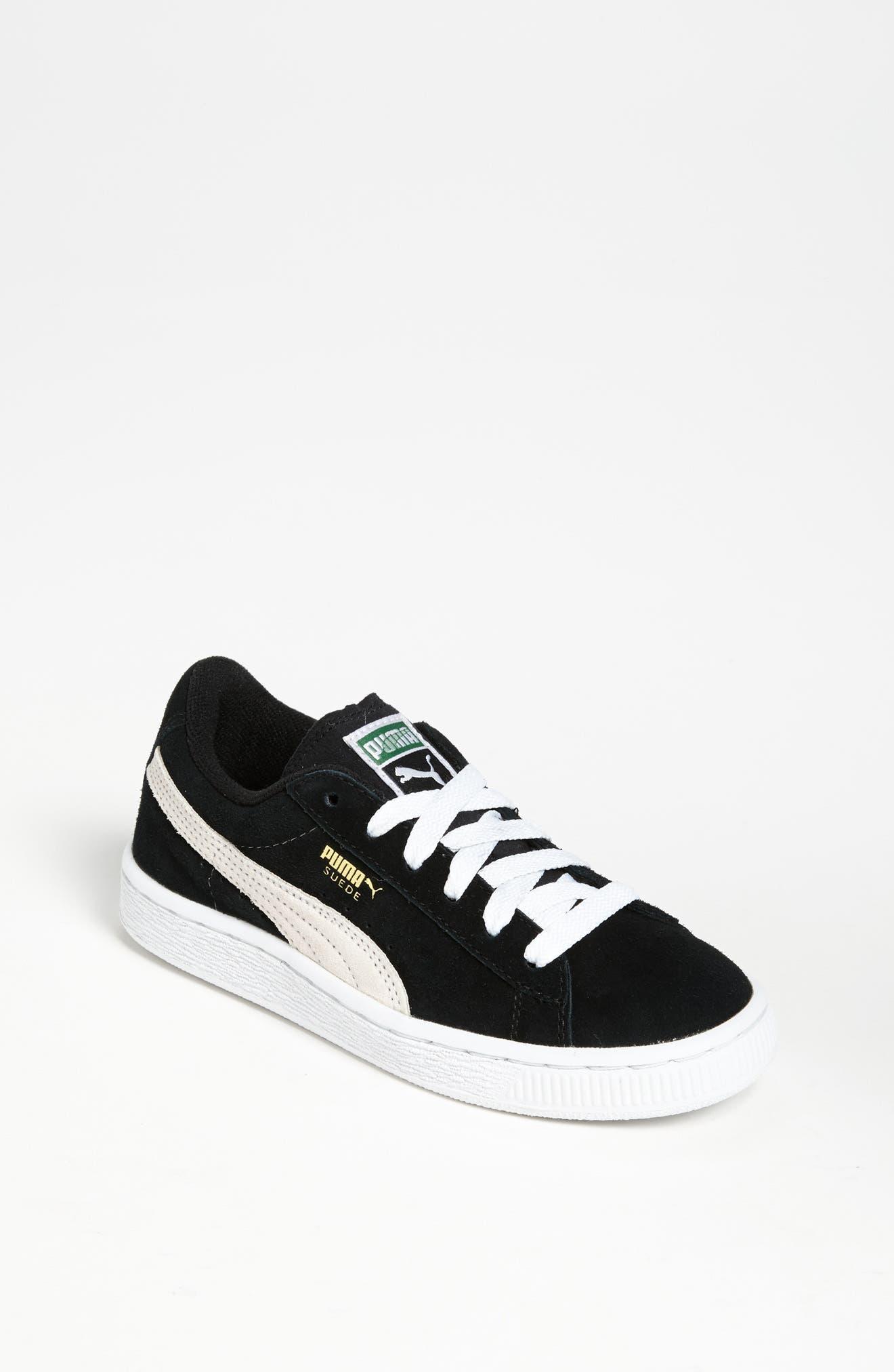 'Suede Jr.' Sneaker,                         Main,                         color, 001