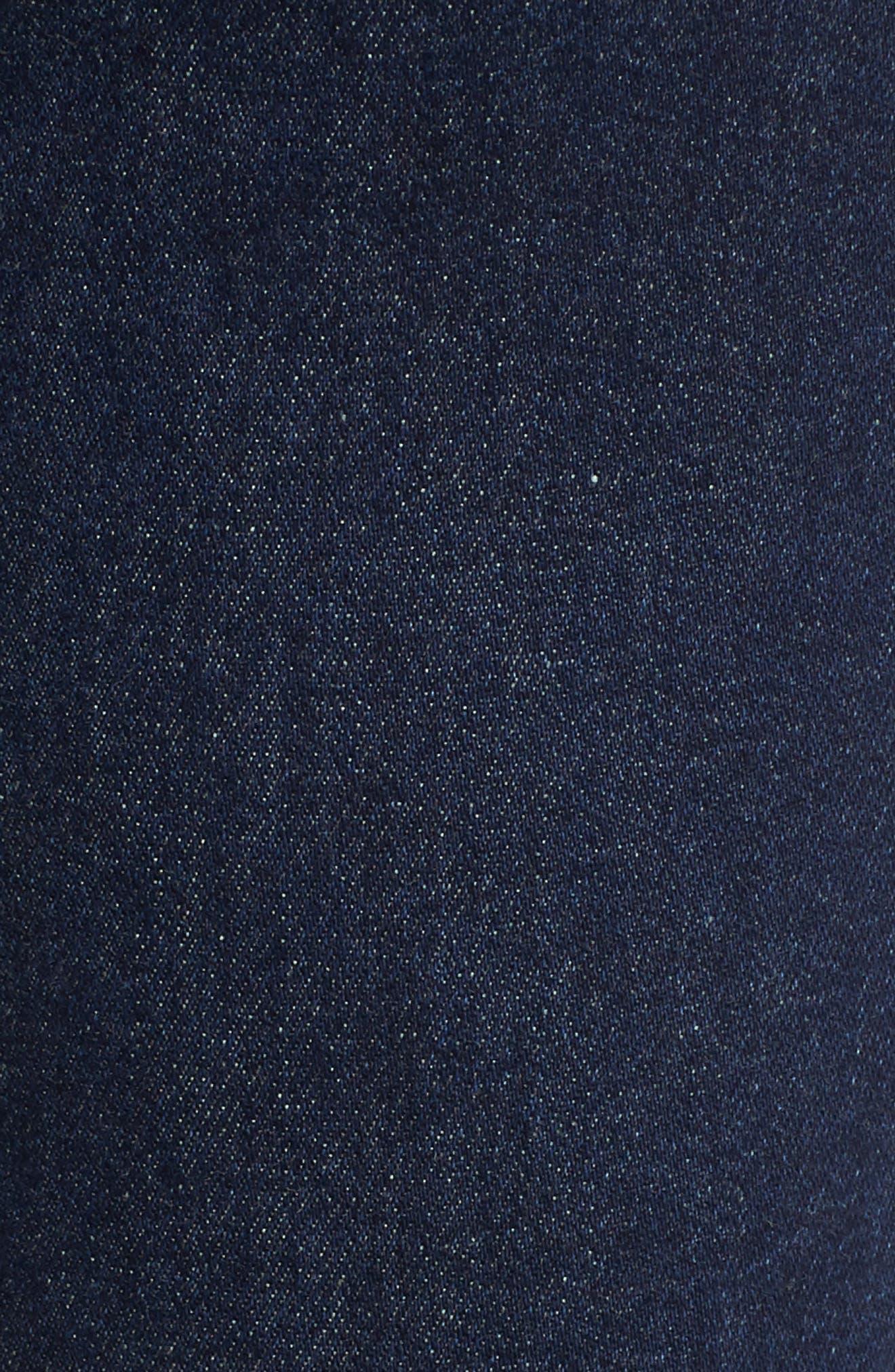 Jagger Skinny Jeans,                             Alternate thumbnail 6, color,                             DARK WASH