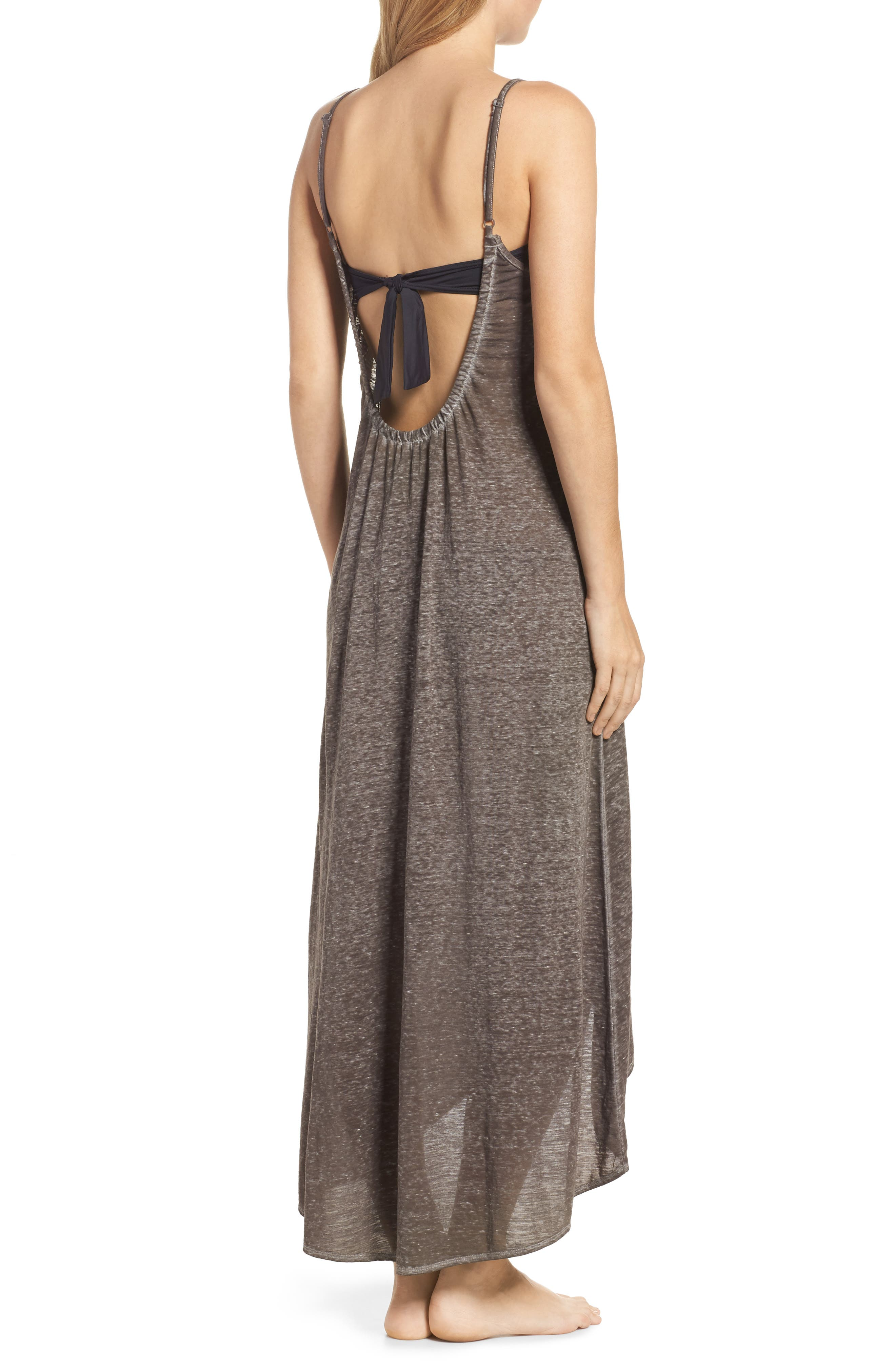 Maxi Cover-Up Dress,                             Alternate thumbnail 7, color,
