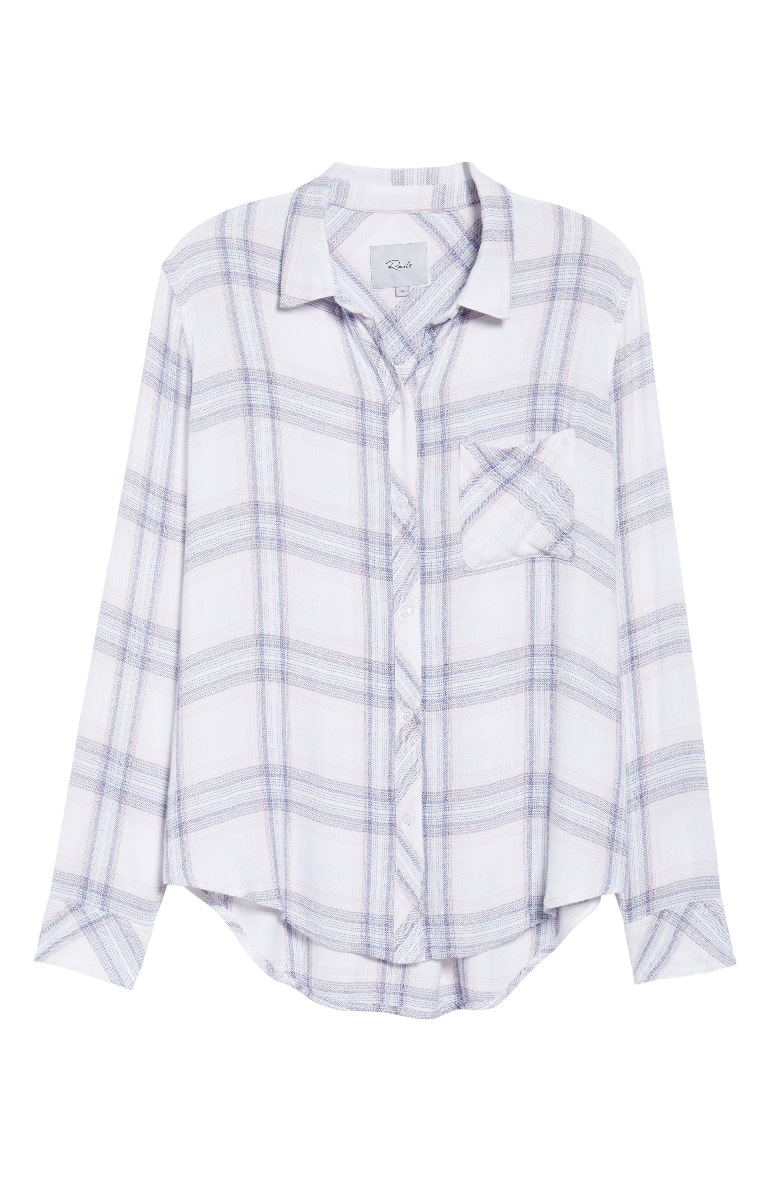 Hunter Plaid Shirt,                             Alternate thumbnail 710, color,