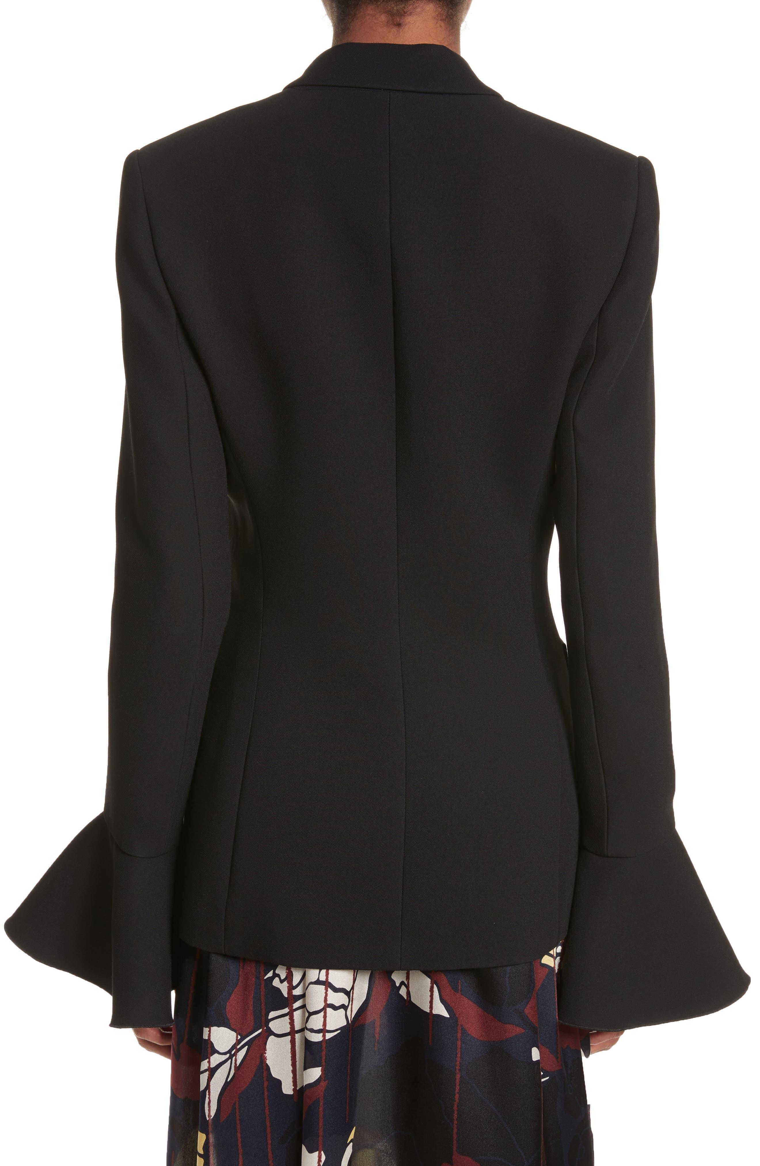 Riva Jacket,                             Alternate thumbnail 2, color,                             BLACK