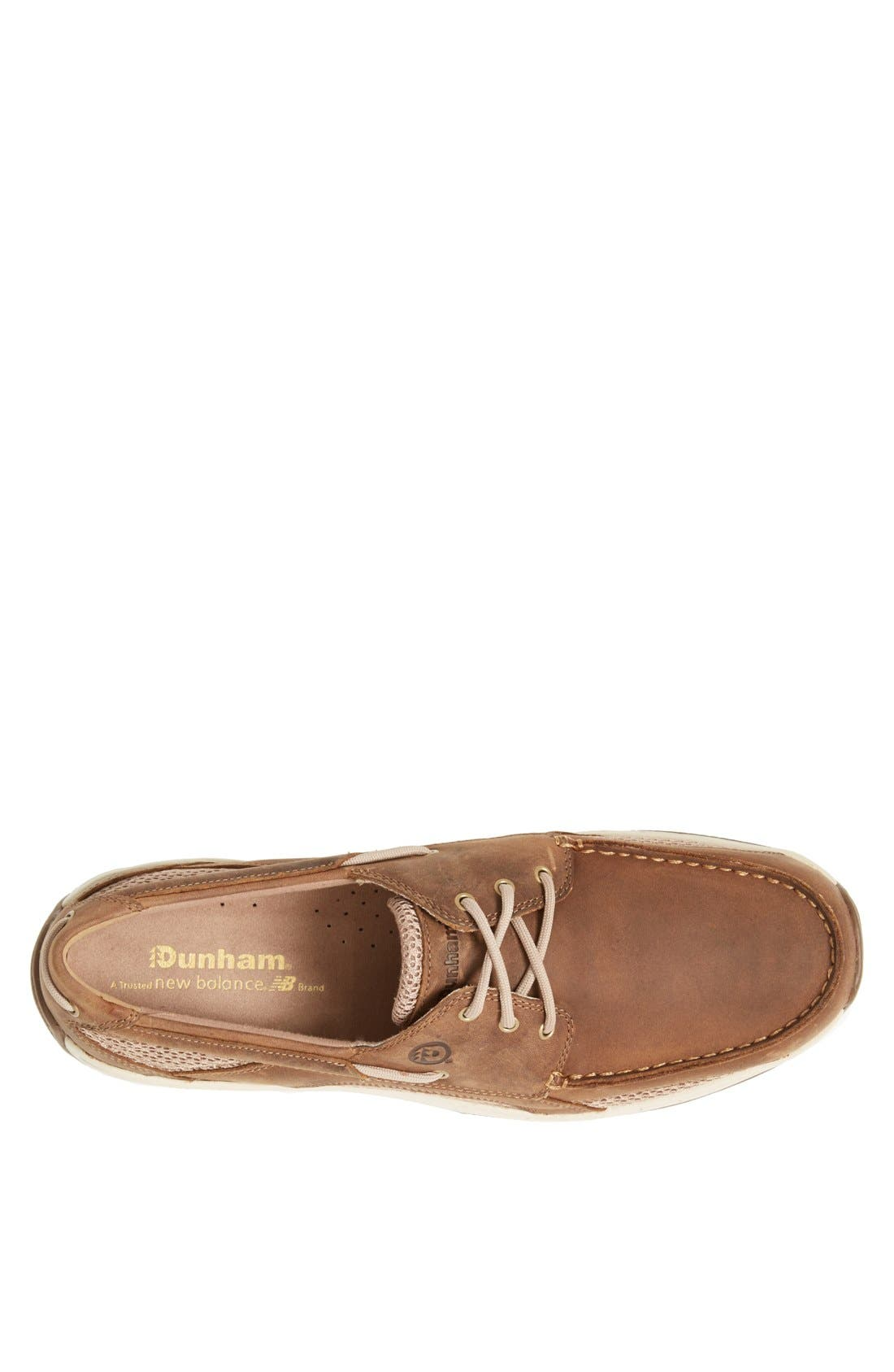 'Captain' Boat Shoe,                             Alternate thumbnail 3, color,                             TAN