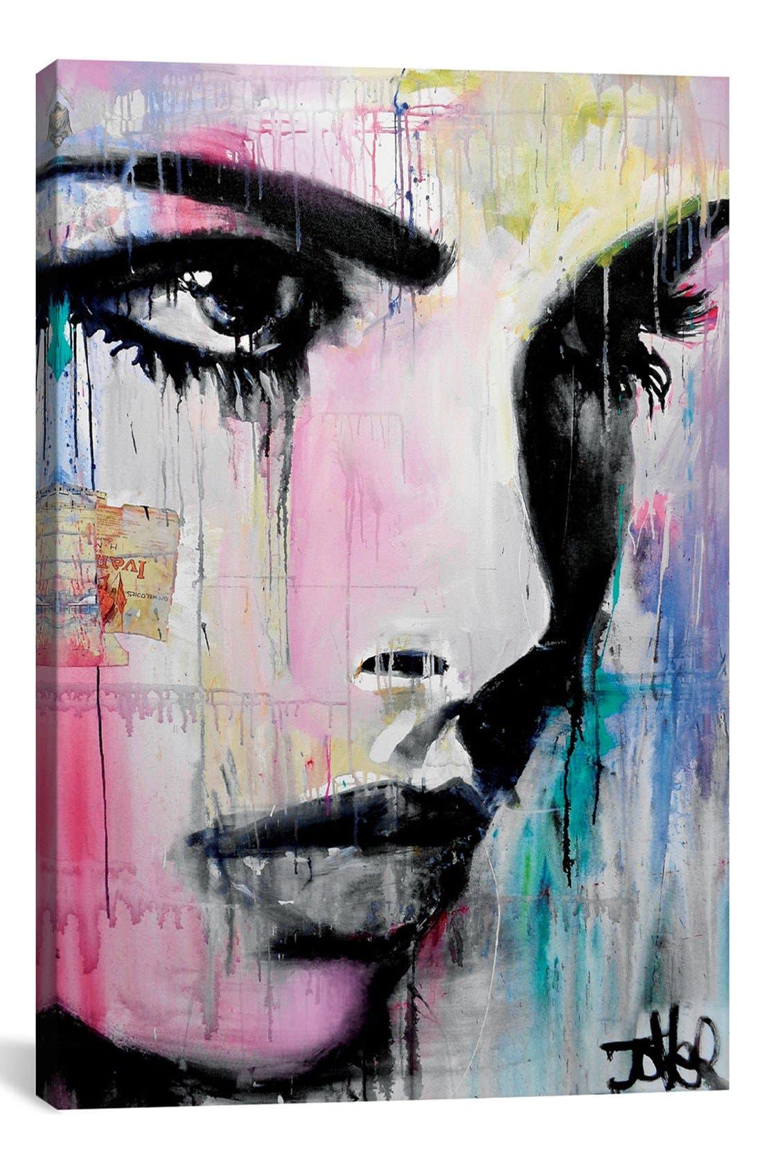 'Tempest' Giclée Print Canvas Art,                         Main,                         color, BLACK