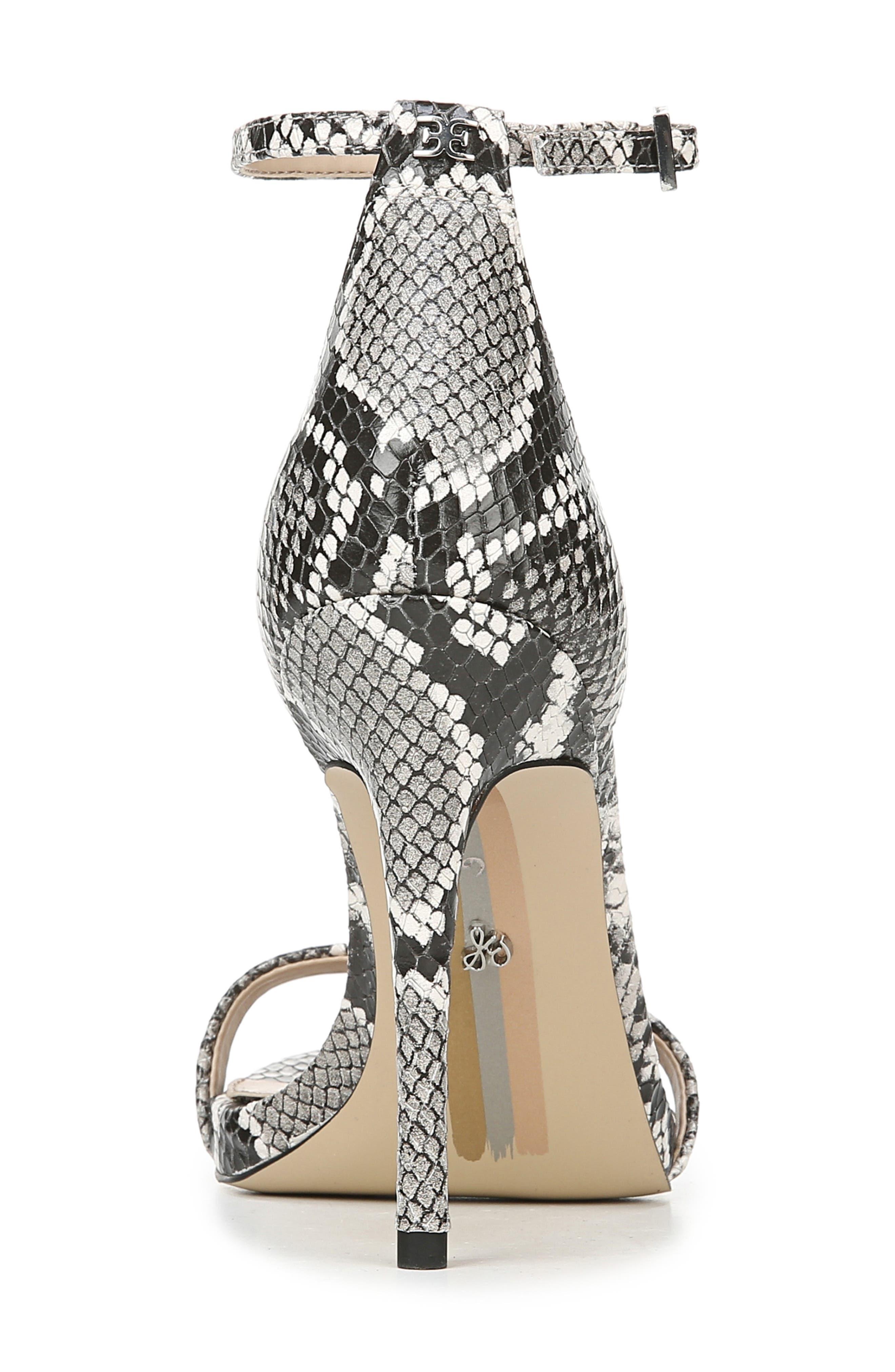 Ariella Ankle Strap Sandal,                             Alternate thumbnail 7, color,                             005