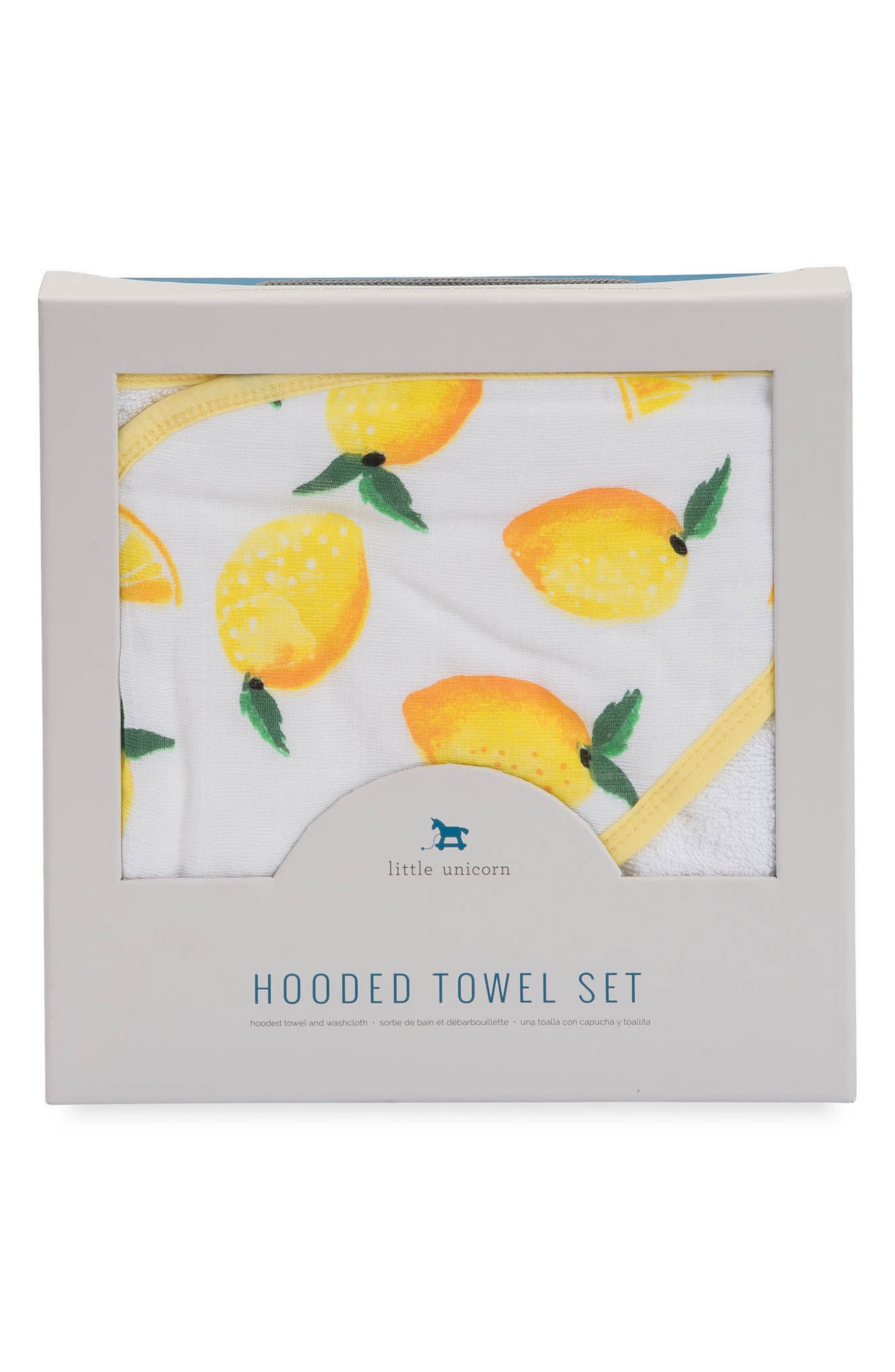 Hooded Towel & Wash Cloth Set,                             Alternate thumbnail 8, color,