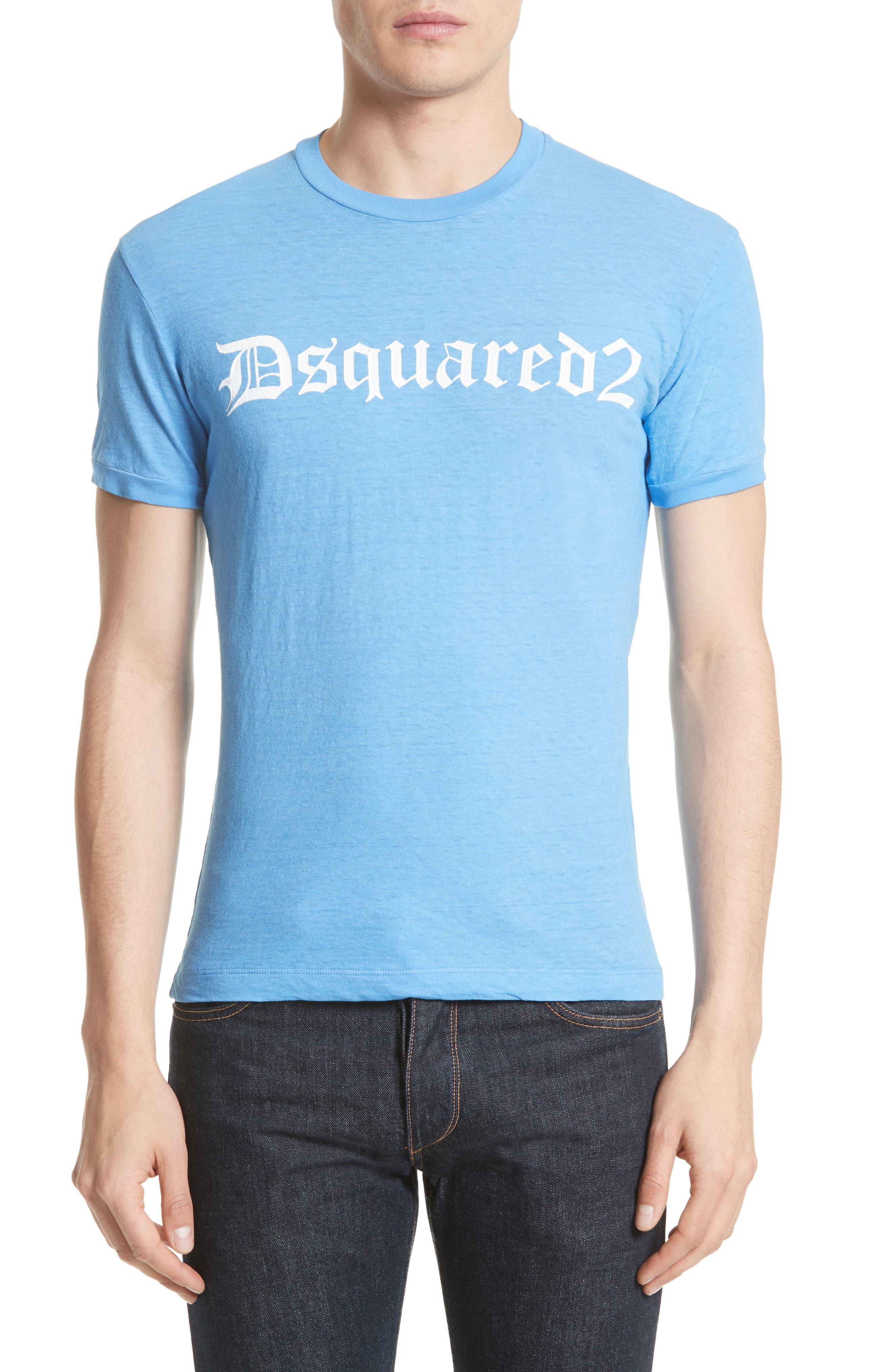 Dquared2 Cotton T-Shirt,                             Main thumbnail 1, color,                             449