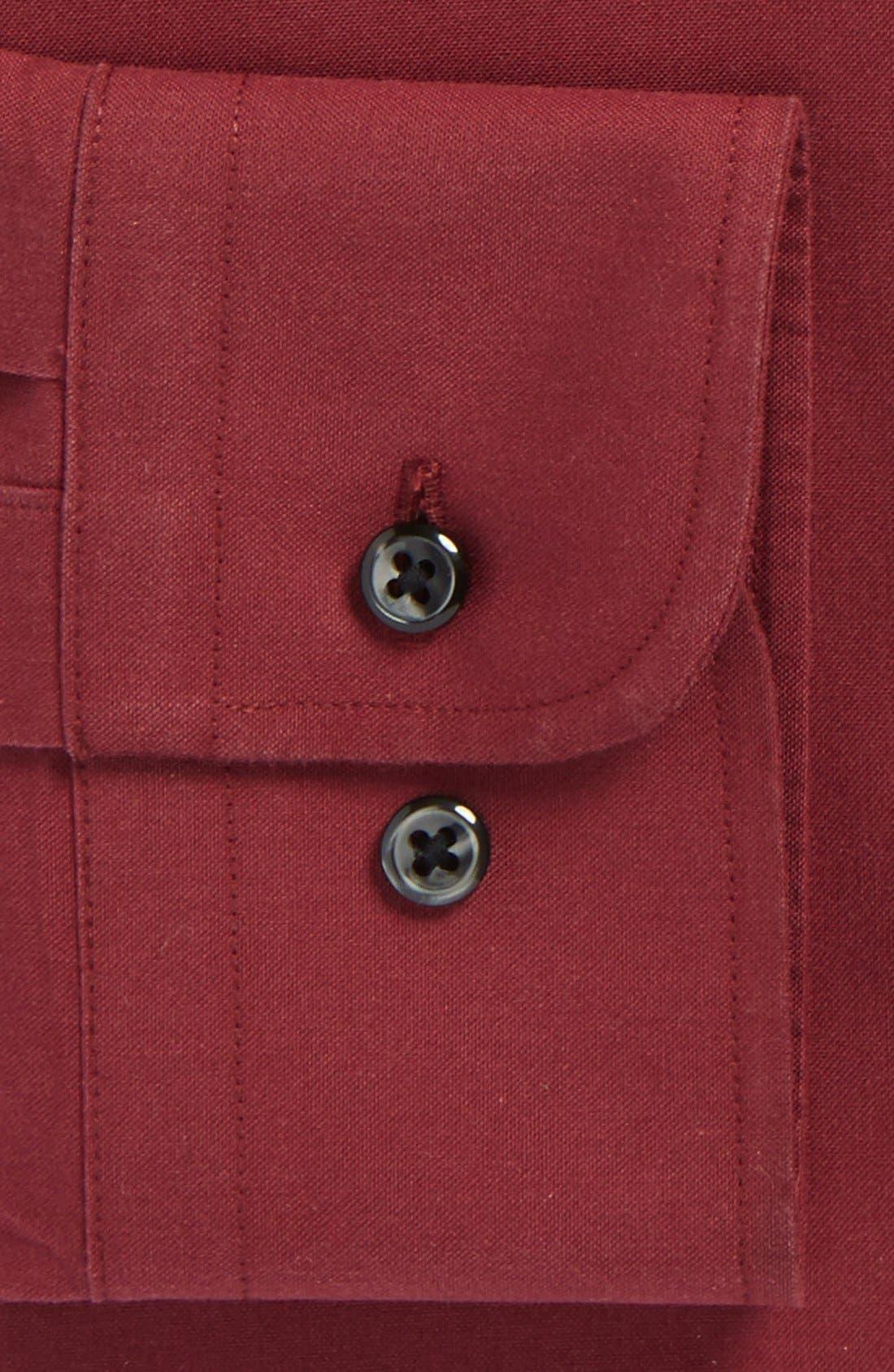 Smartcare<sup>™</sup> Trim Fit Solid Dress Shirt,                             Alternate thumbnail 34, color,