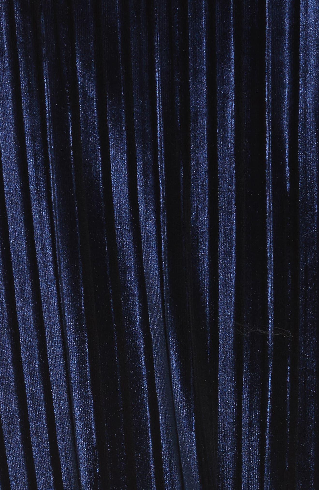 Belted Velvet Blouse,                             Alternate thumbnail 10, color,