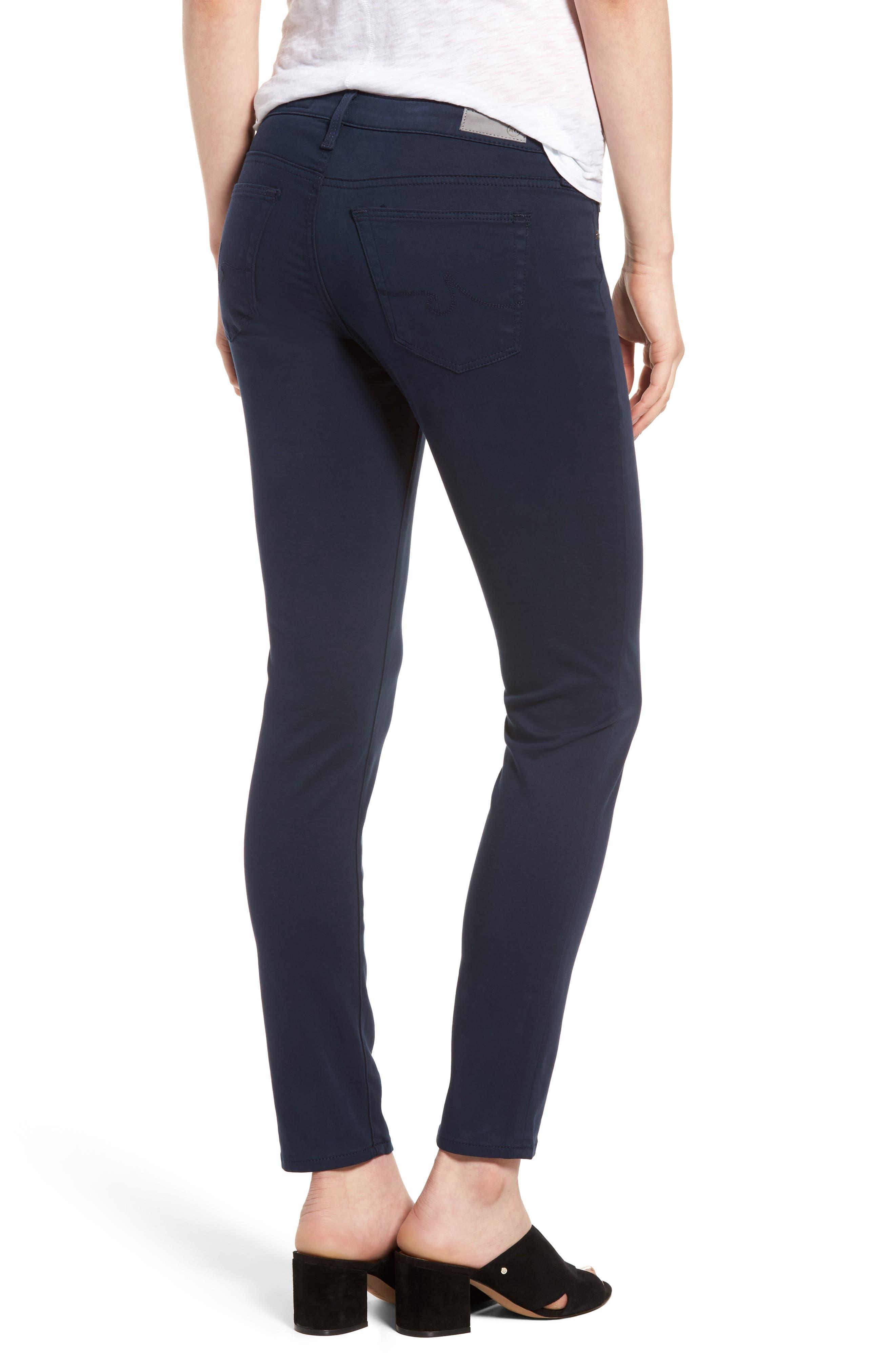 The Legging Ankle Jeans,                             Alternate thumbnail 2, color,                             BLUE NIGHT