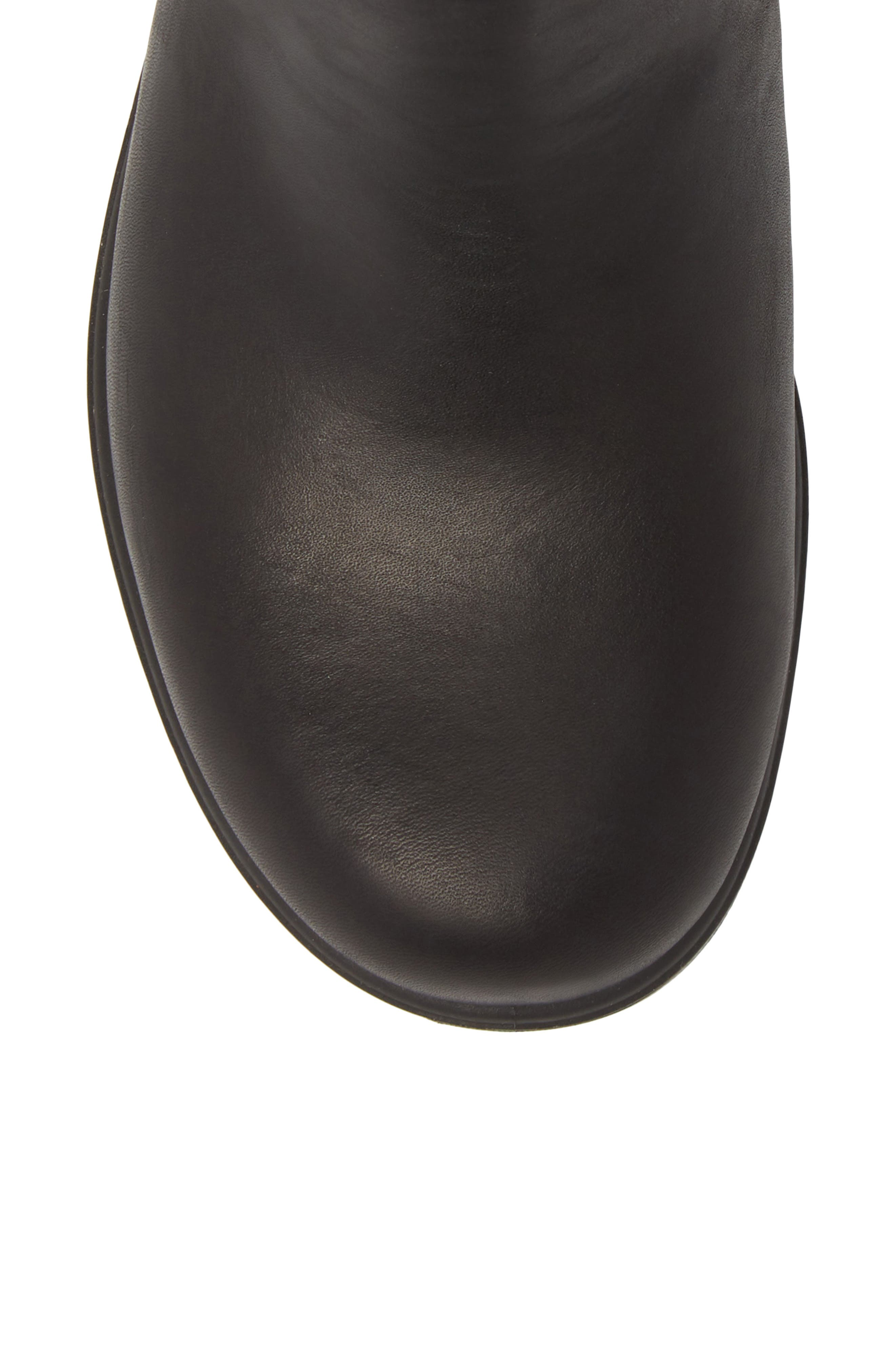 Footwear Chelsea Boot,                             Alternate thumbnail 5, color,                             VOLTAN BLACK LEATHER