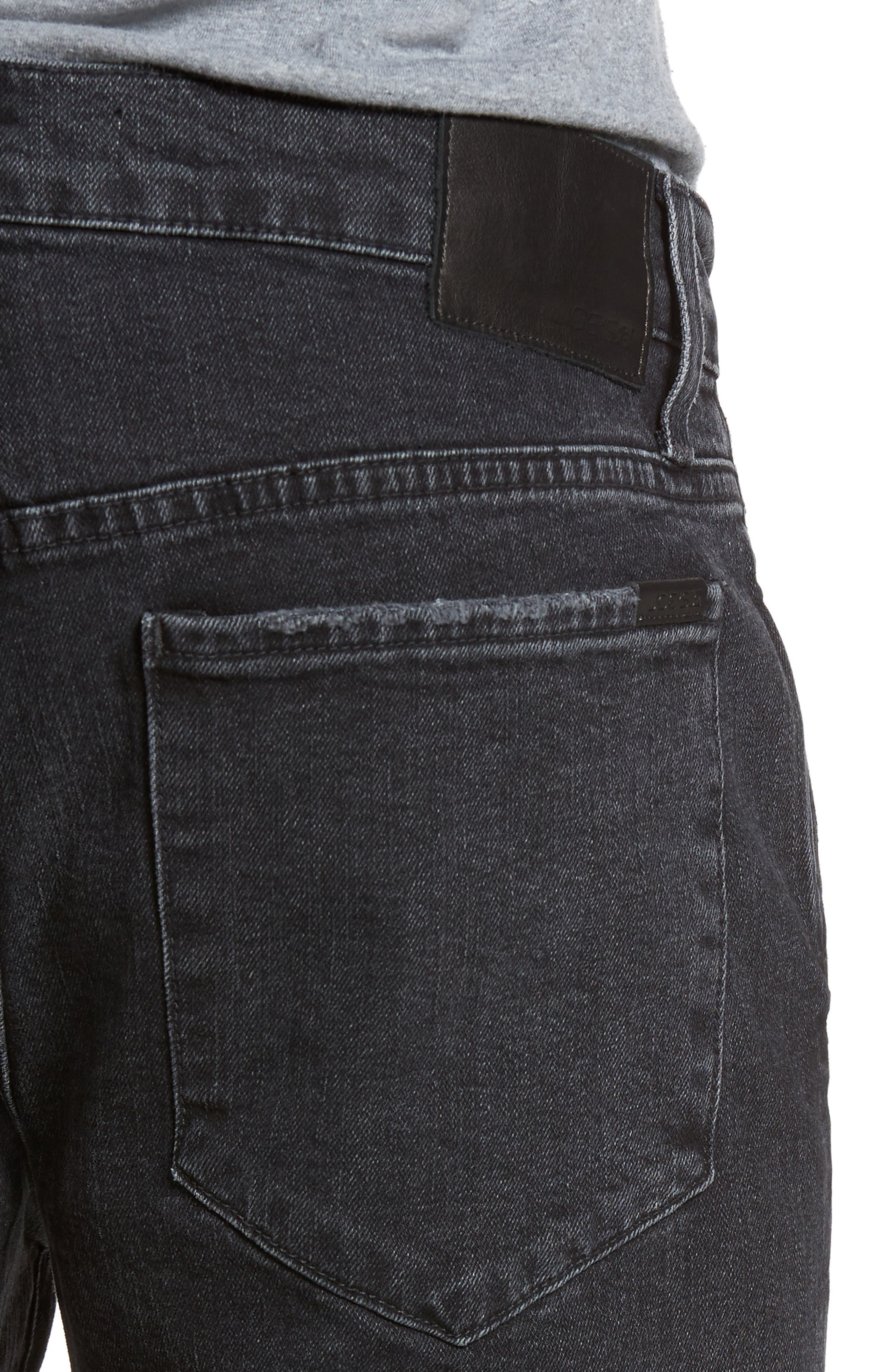Brixton Slim Straight Fit Jeans,                             Alternate thumbnail 4, color,                             438