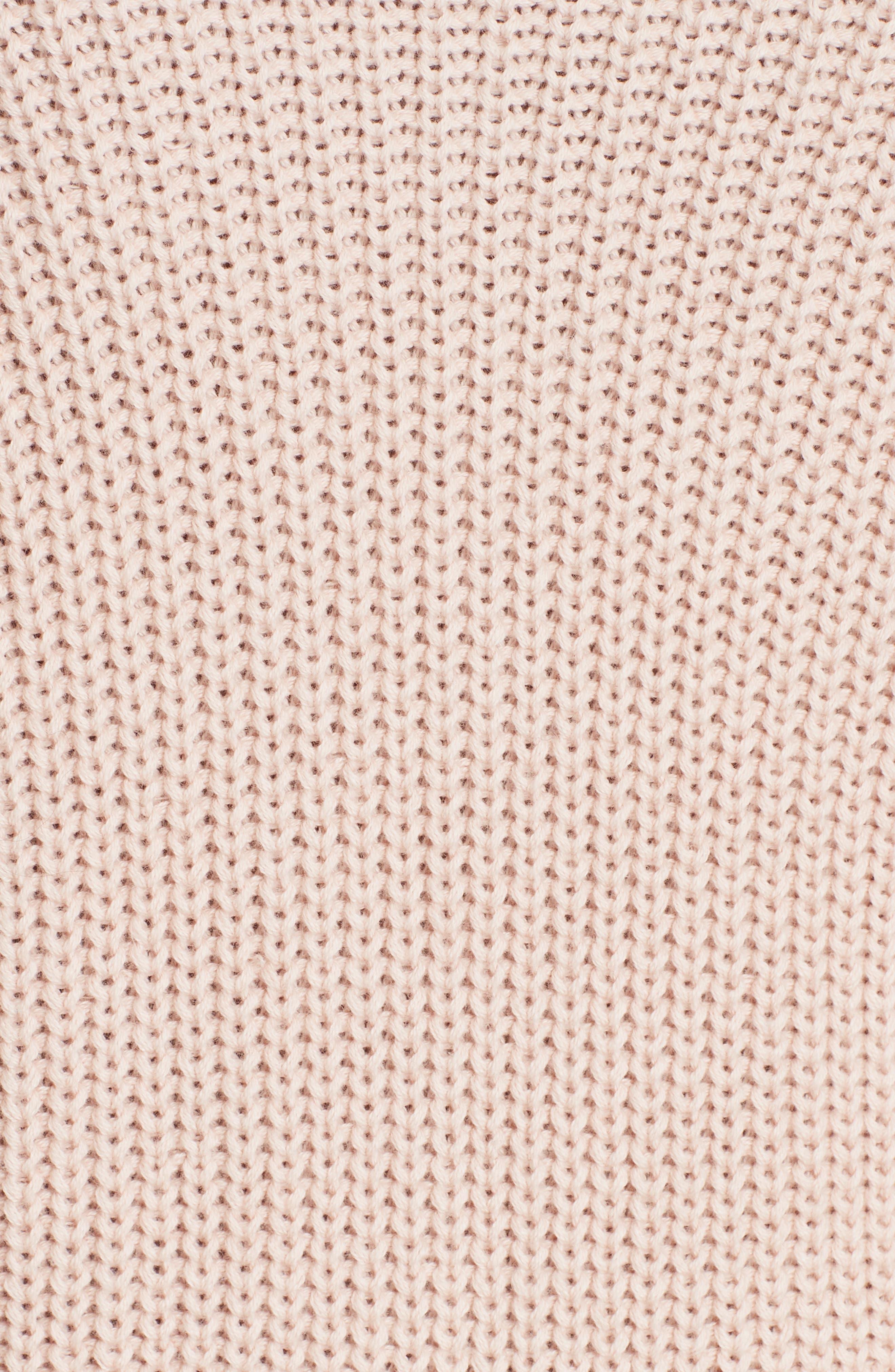 Landyn Blouson Sleeve Sweater,                             Alternate thumbnail 5, color,                             PINK SKY