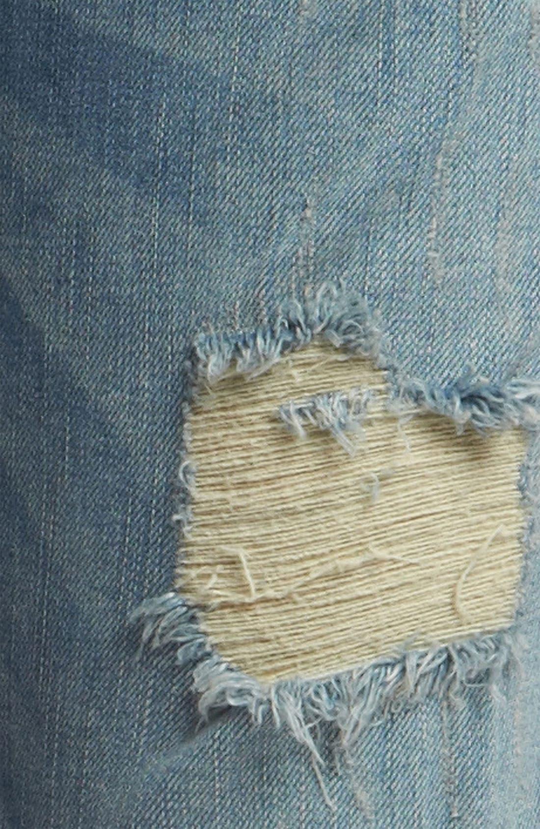 EDYSON,                             'Soho' Relaxed Boyfriend Jeans,                             Alternate thumbnail 3, color,                             400
