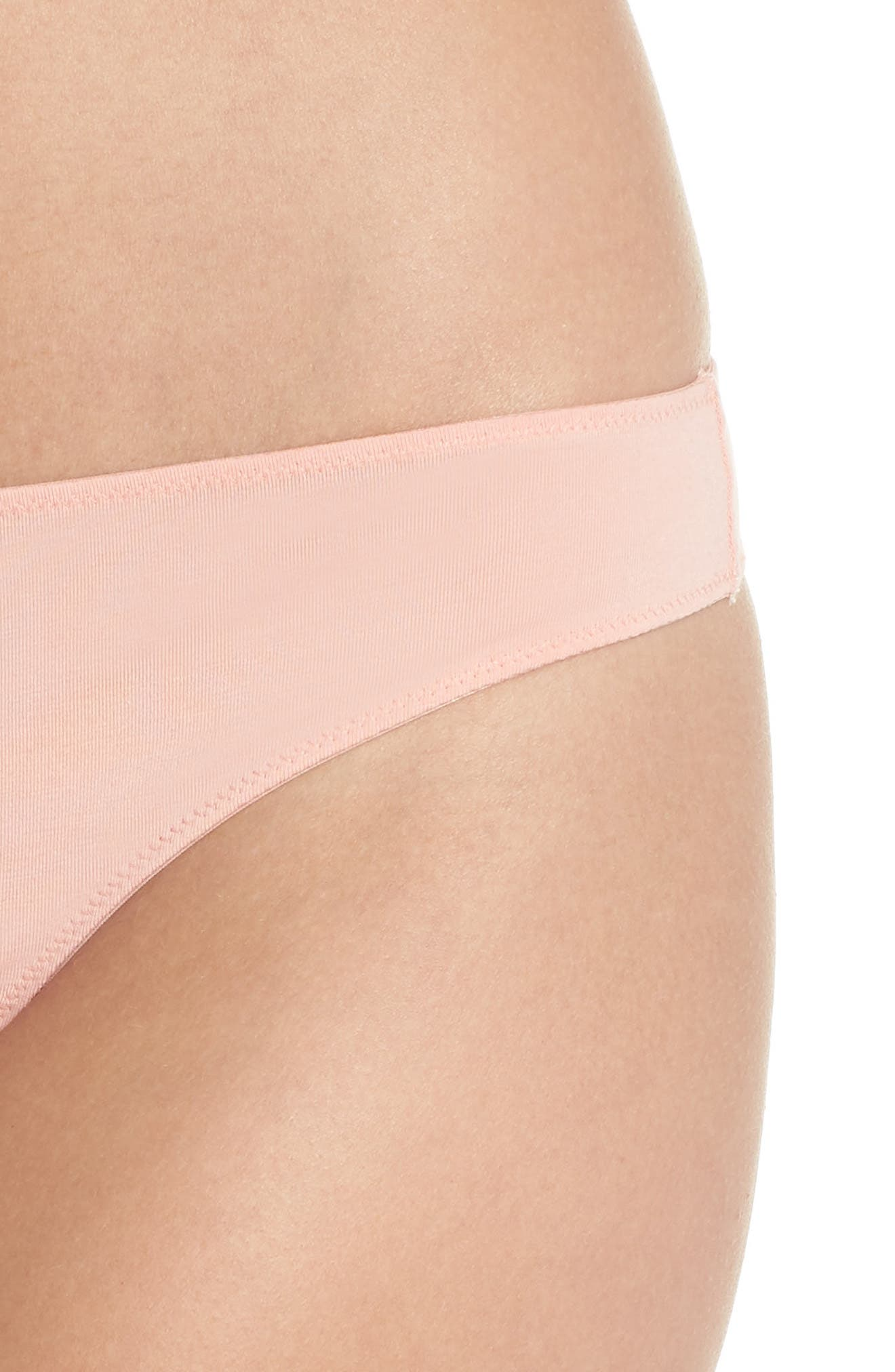 Jersey Thong,                             Alternate thumbnail 4, color,                             BLANCHED CORAL