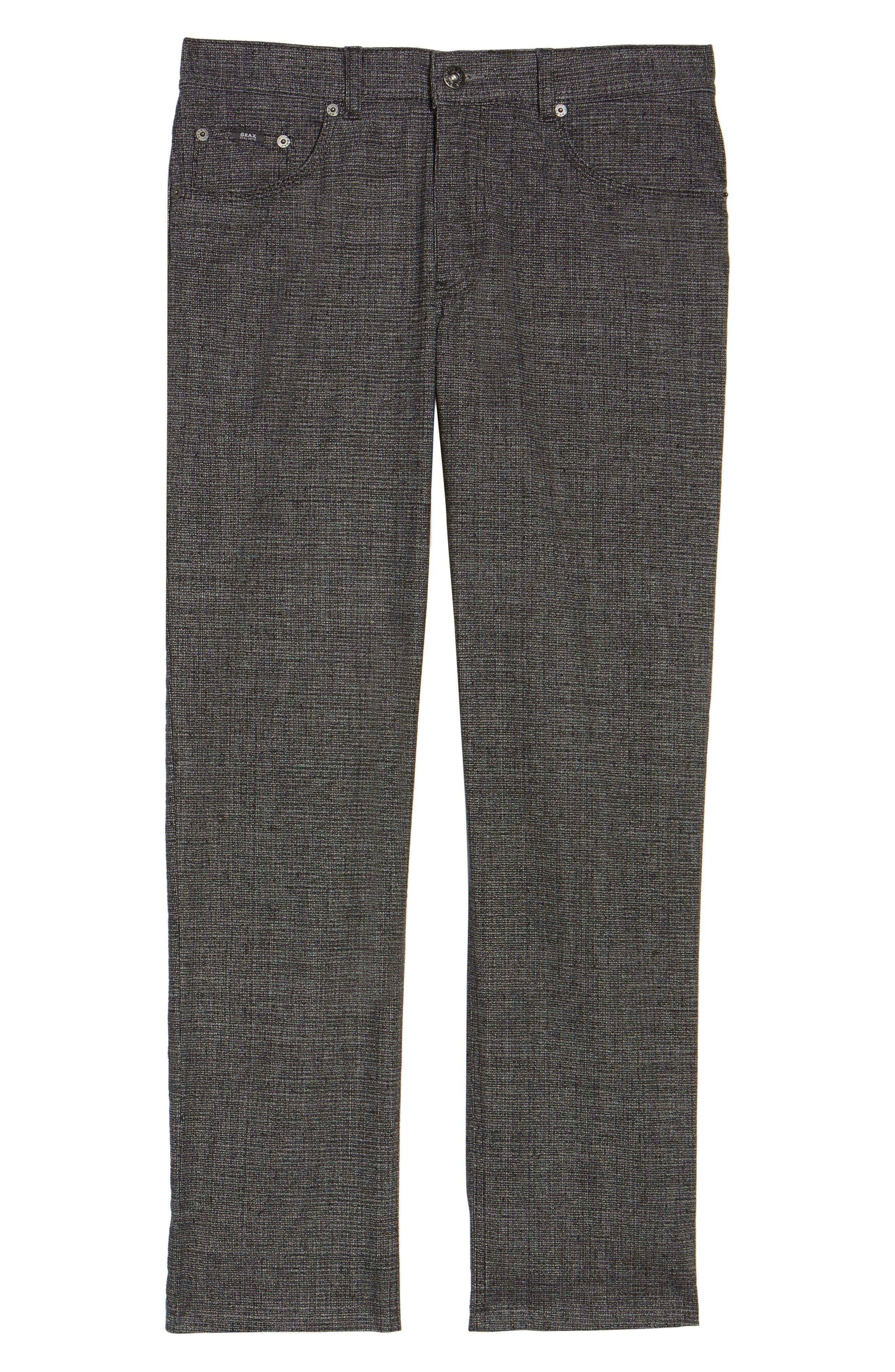 Cotton Blend Five-Pocket Trousers,                             Alternate thumbnail 6, color,                             005