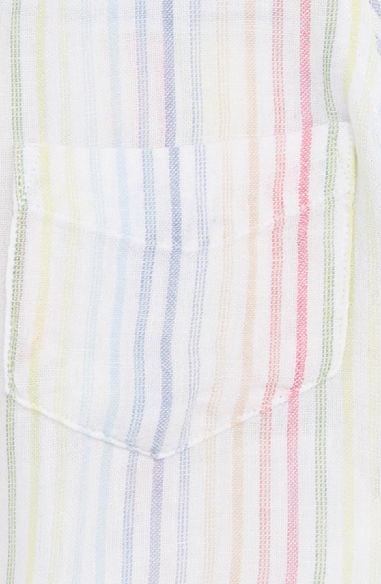 Valerie Tie Front Shirt,                             Alternate thumbnail 2, color,                             105