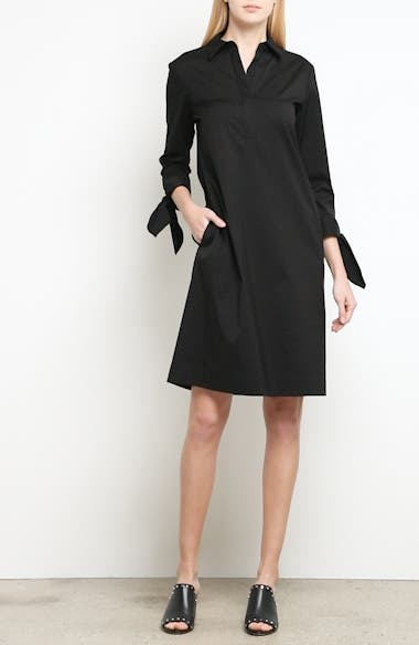 Talia Stretch Cotton Blend Dress, video thumbnail