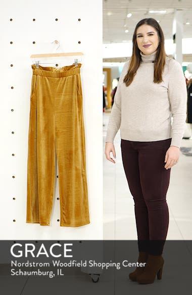 Velvet Wide Leg Pants, sales video thumbnail
