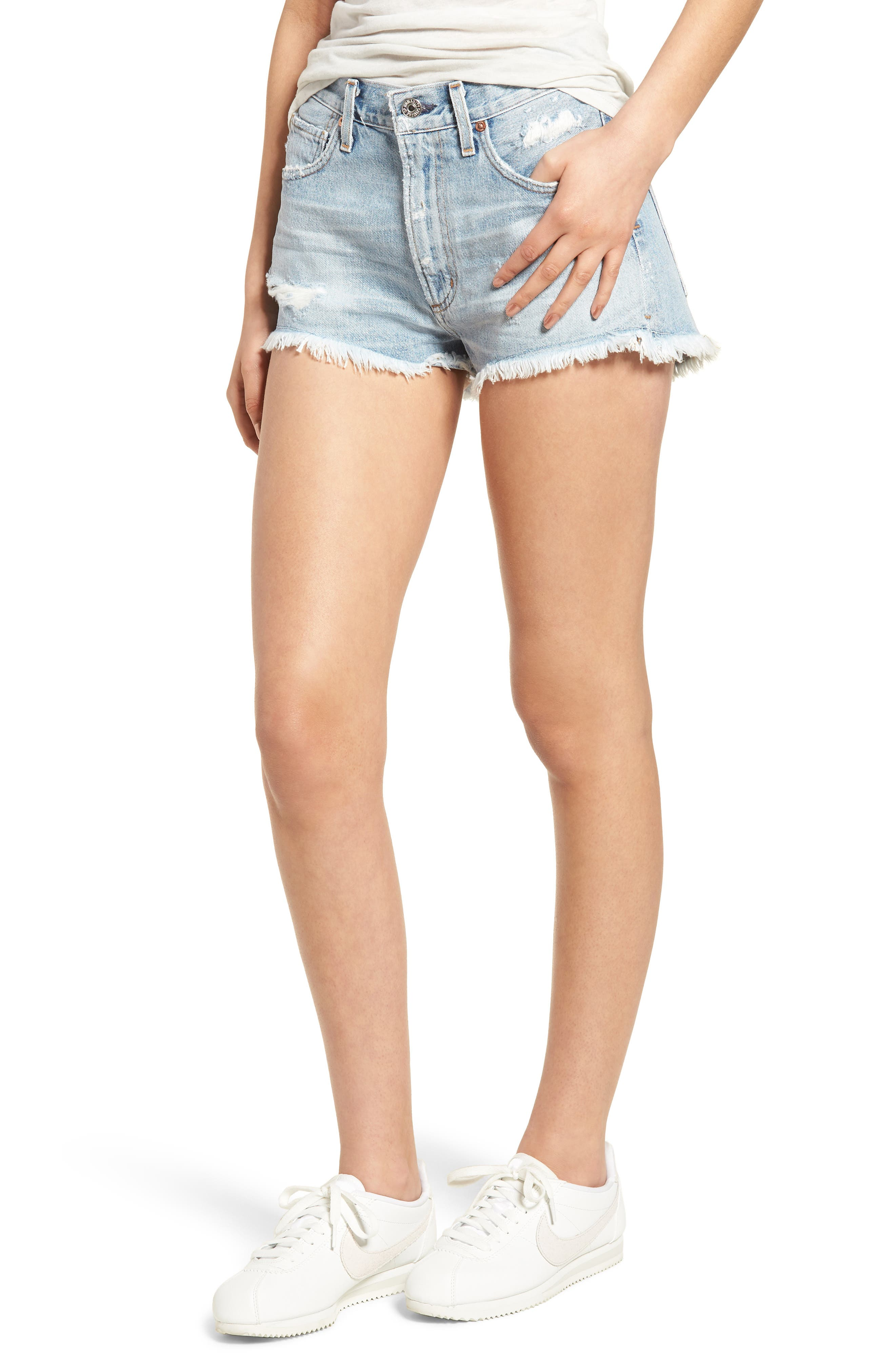 Danielle Cutoff Shorts,                             Main thumbnail 1, color,                             454