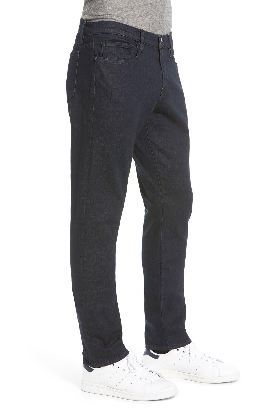 'L'Homme' Slim Fit Jeans,                             Alternate thumbnail 5, color,