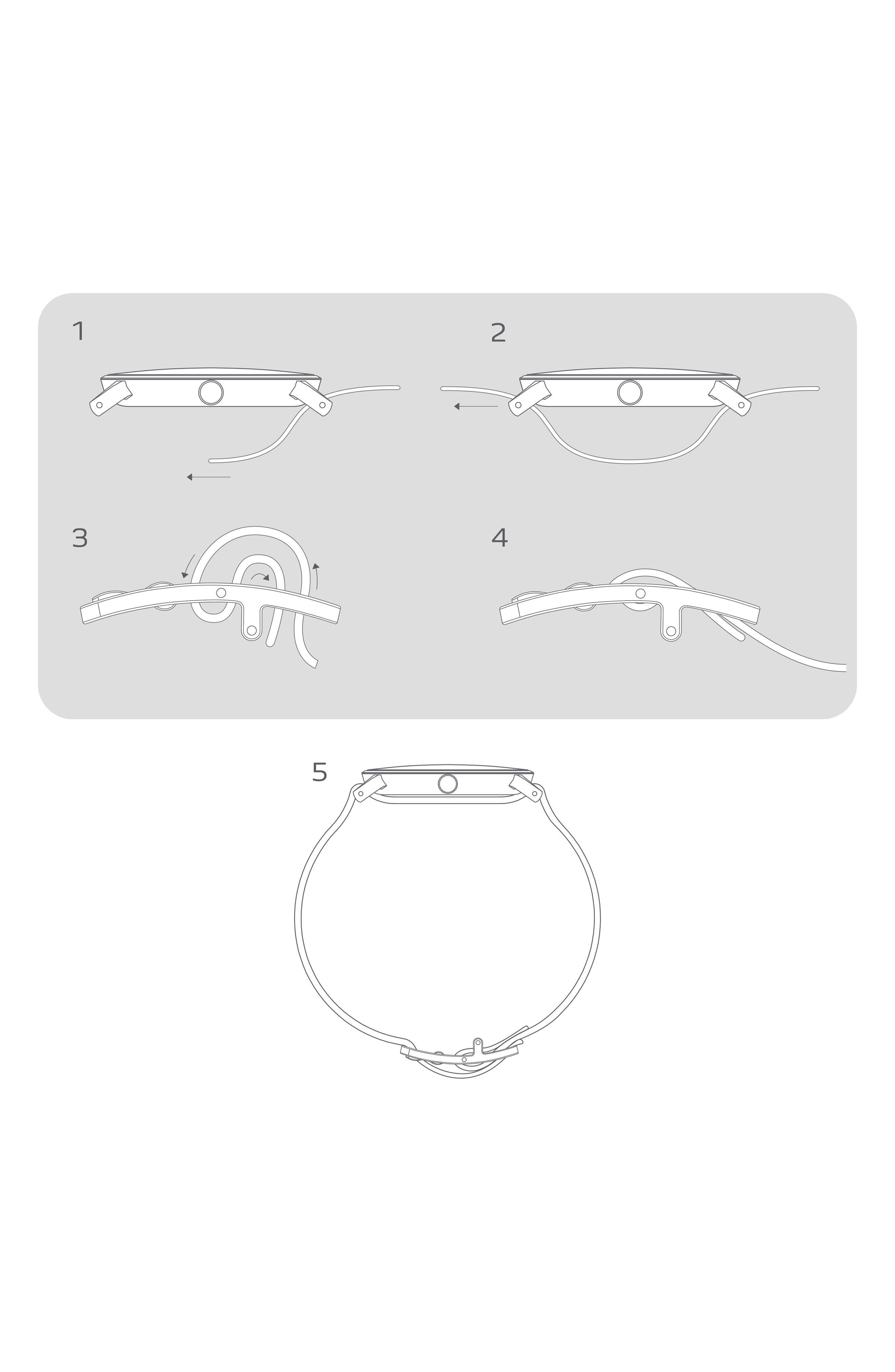 Aaren Reversible Leather Strap Watch, 40mm,                             Alternate thumbnail 4, color,                             BLACK
