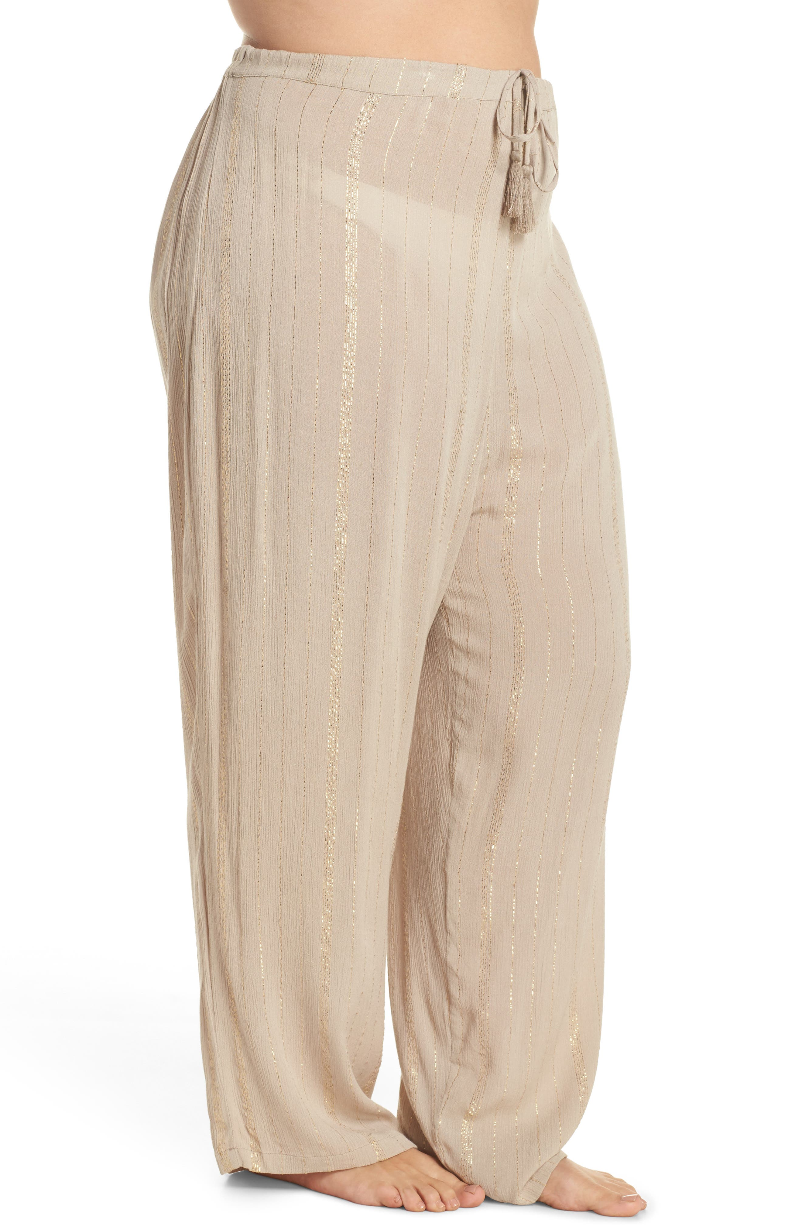 Iris Cover-Up Pants,                             Alternate thumbnail 3, color,