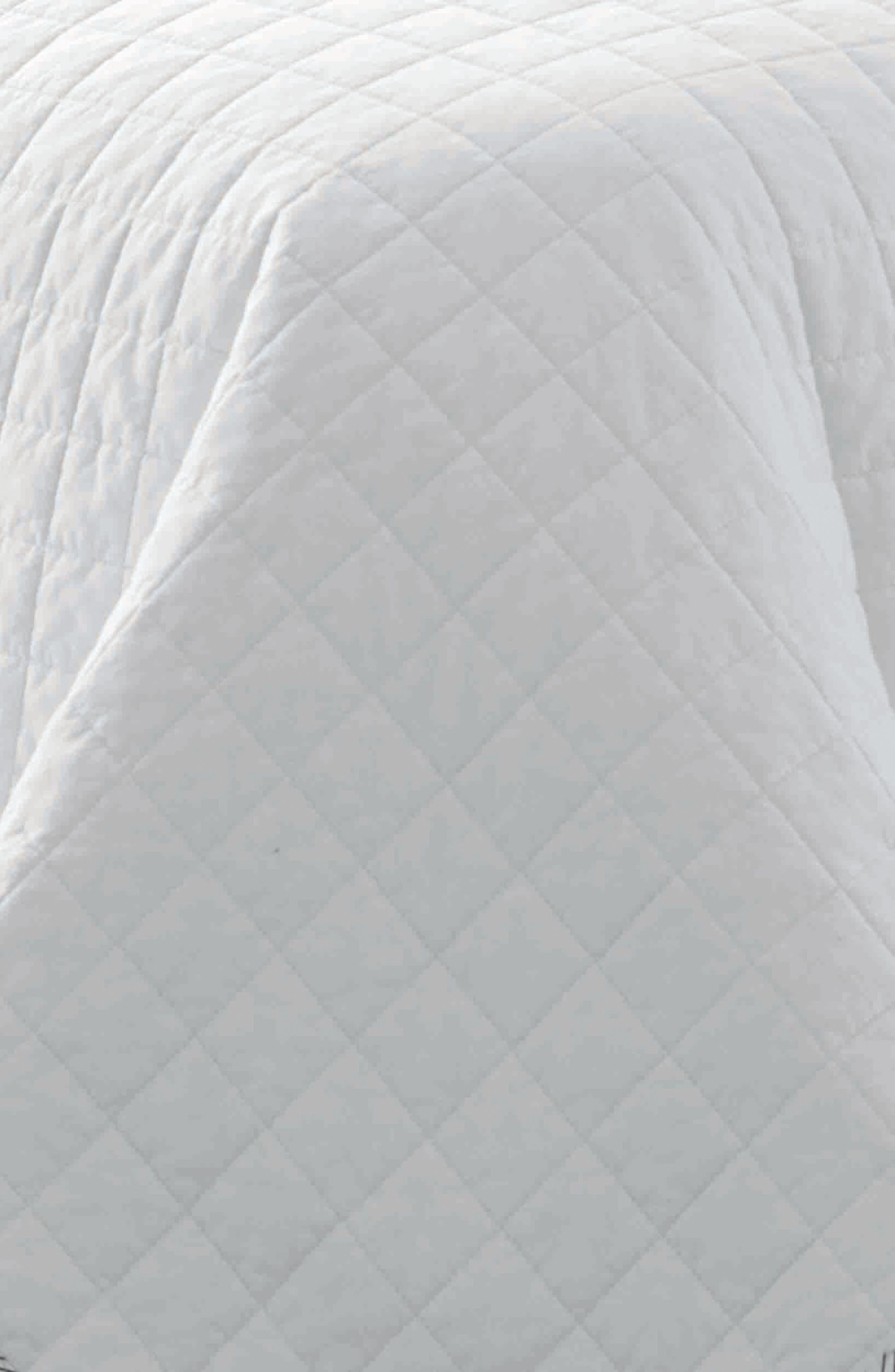 Maywood Quilt & Sham Set,                             Alternate thumbnail 2, color,                             WHITE