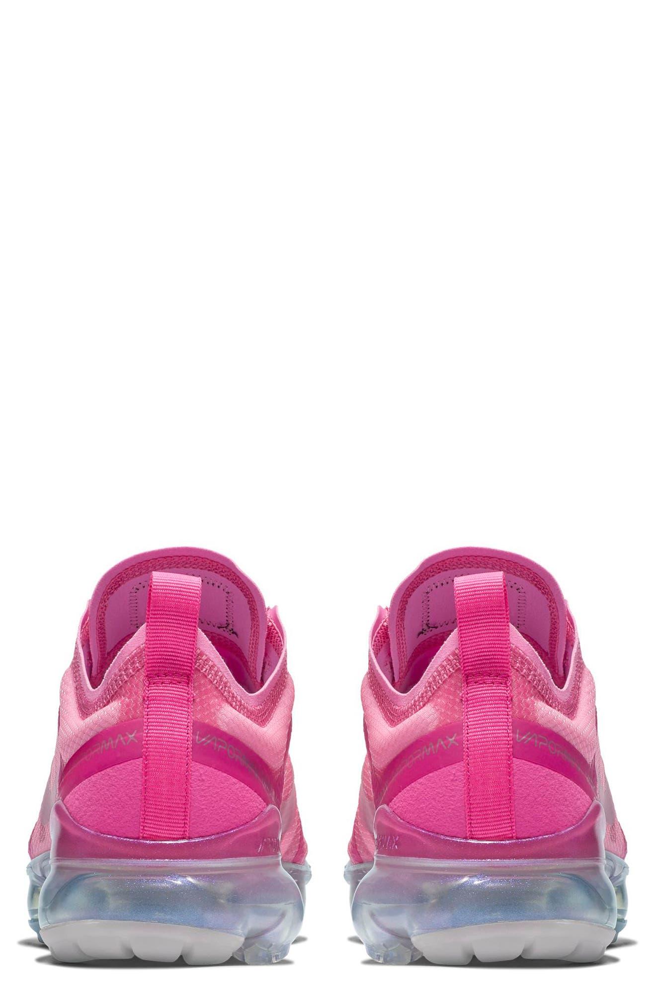 NIKE,                             Air VaporMax 2019 Running Shoe,                             Alternate thumbnail 2, color,                             ACTIVE FUCHSIA/ LASER FUCHSIA