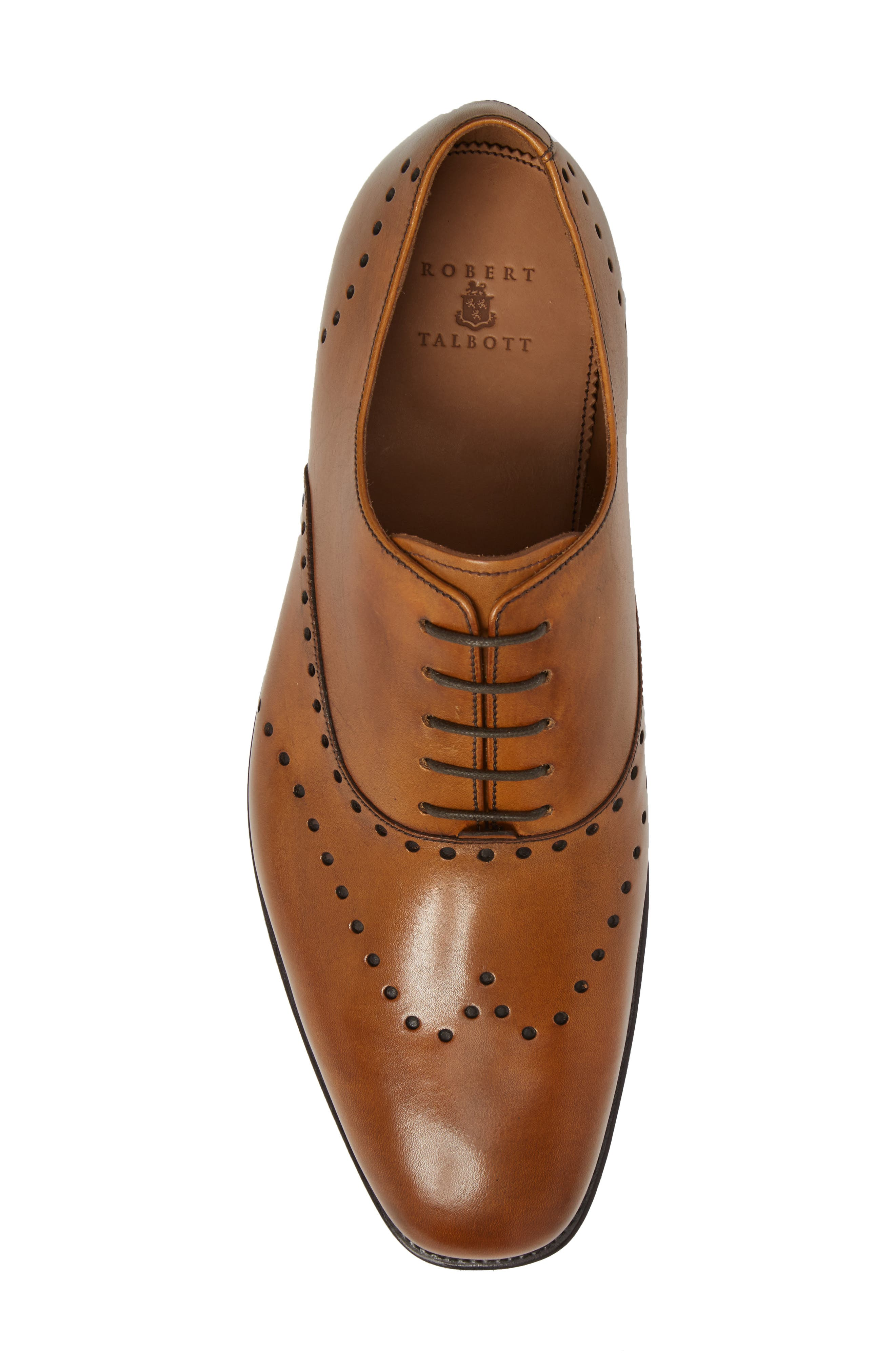 Belvedere Wingtip,                             Alternate thumbnail 5, color,                             OAK