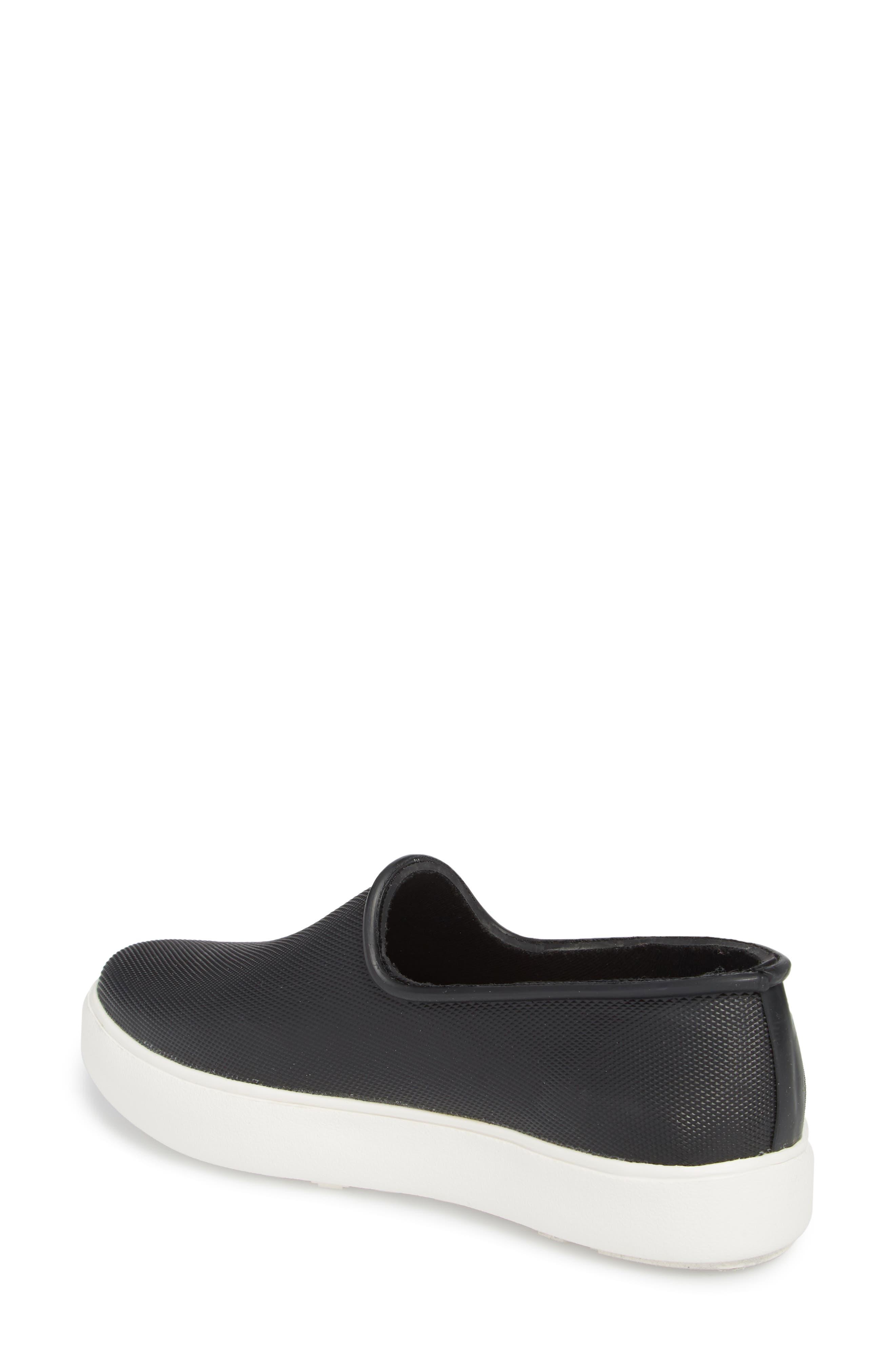 Rainy Day Waterproof Slip-On Sneaker,                             Alternate thumbnail 2, color,                             001