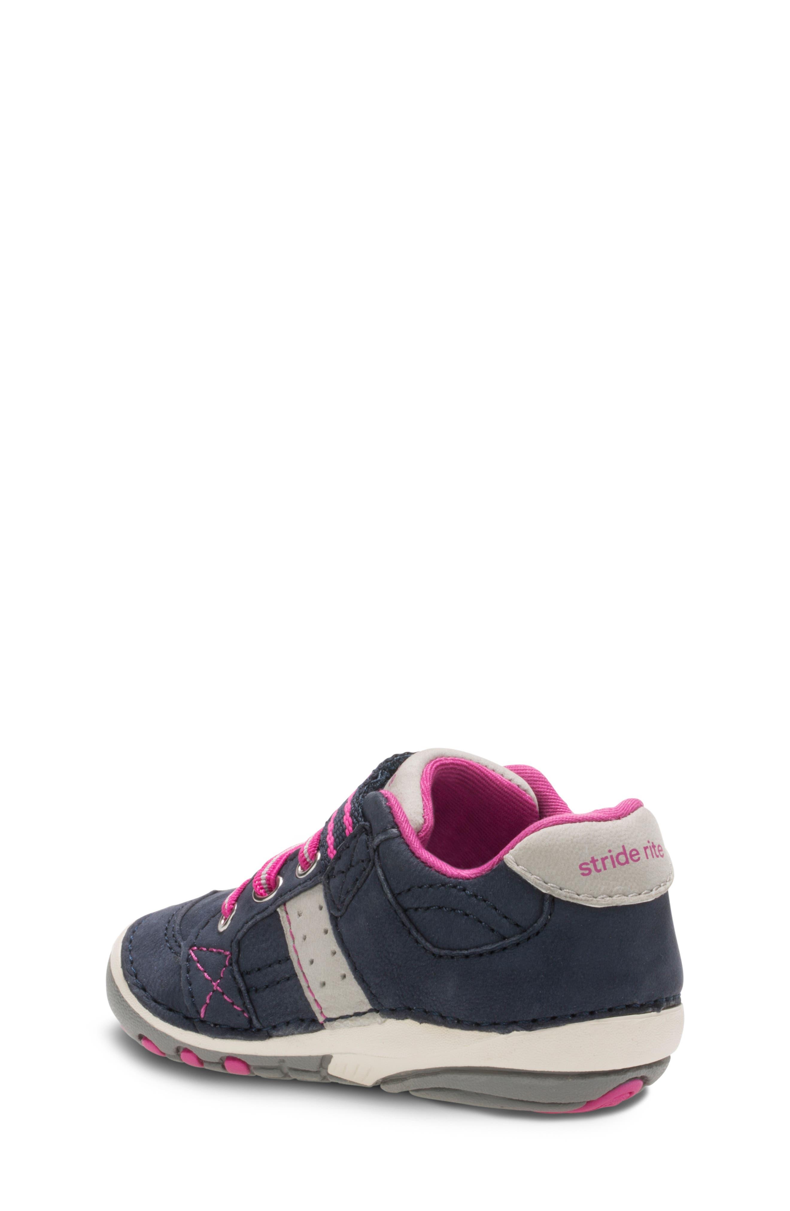 'Artie' Sneaker,                             Alternate thumbnail 2, color,                             NAVY/ PINK